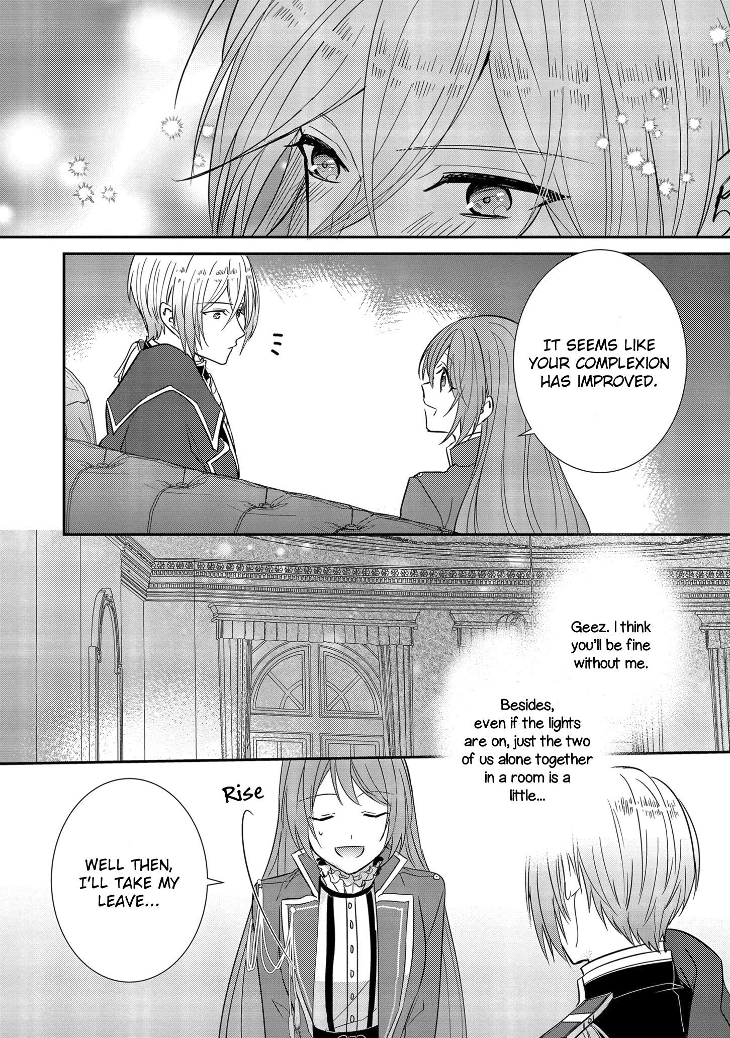 Manga The Emperor Hopes for the Court Lady as His Bride - Chapter 12 Page 29