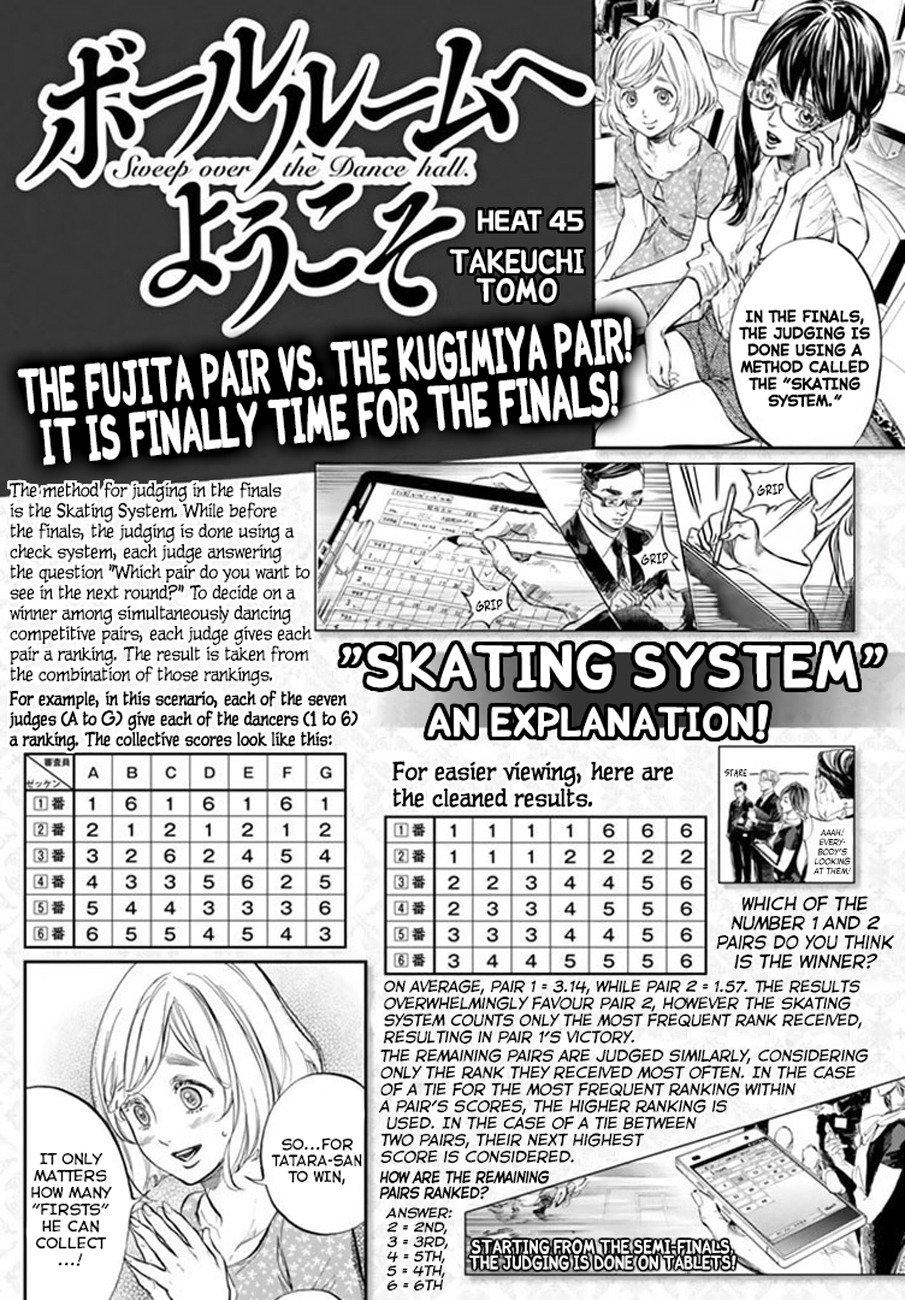 Manga Welcome to the Ballroom - Chapter 45.1 Page 1