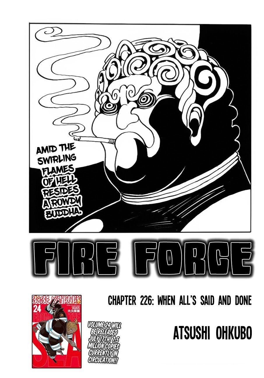 Manga Fire Force - Chapter 226 Page 1