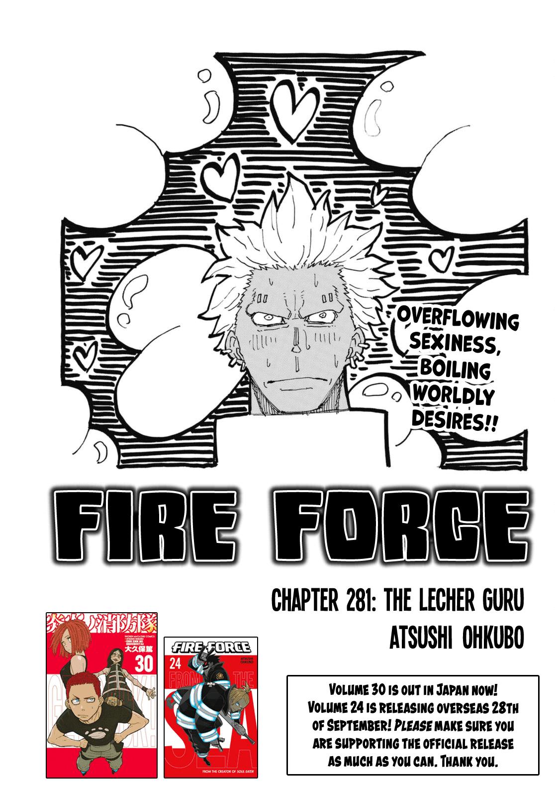 Manga Fire Force - Chapter 281 Page 1