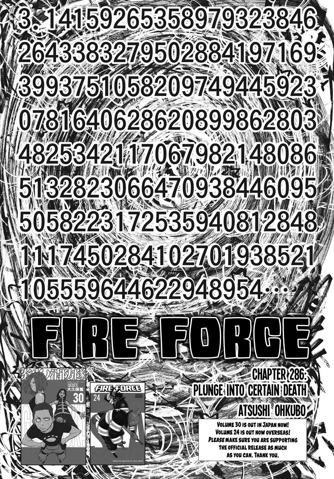 Manga Fire Force - Chapter 286 Page 1
