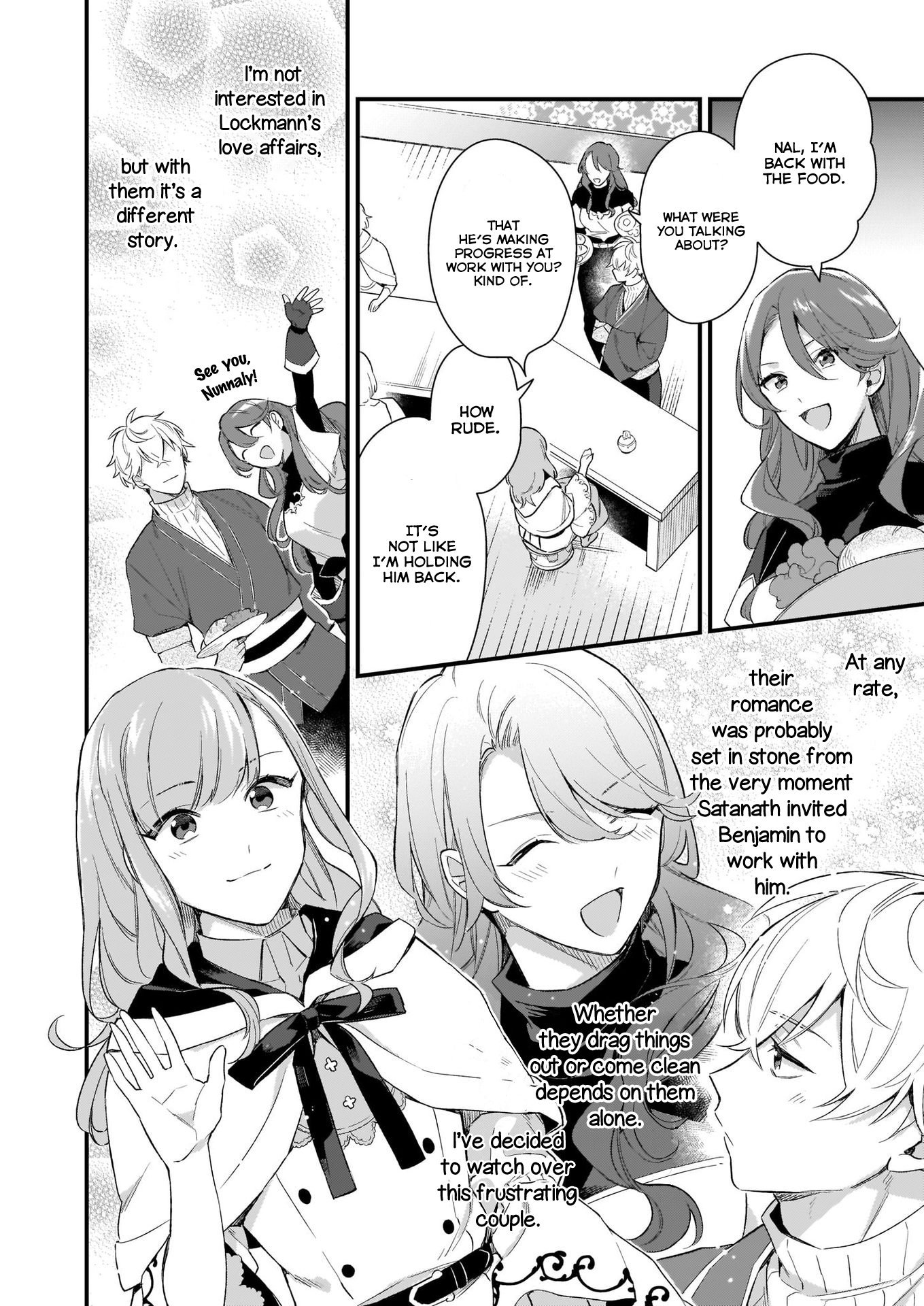 Manga I Want to Be a Receptionist of The Magic World! - Chapter 9 Page 13