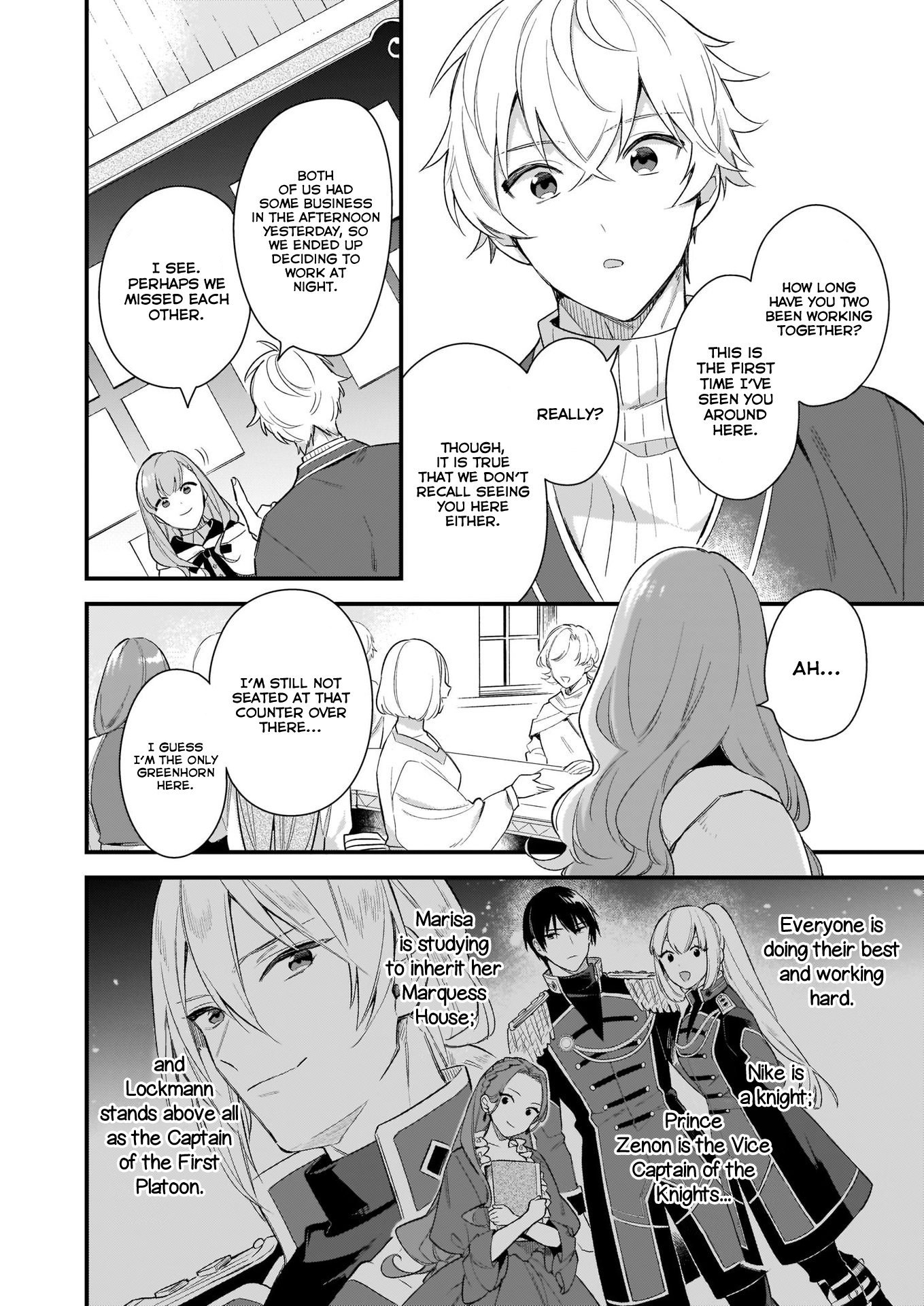 Manga I Want to Be a Receptionist of The Magic World! - Chapter 9 Page 9