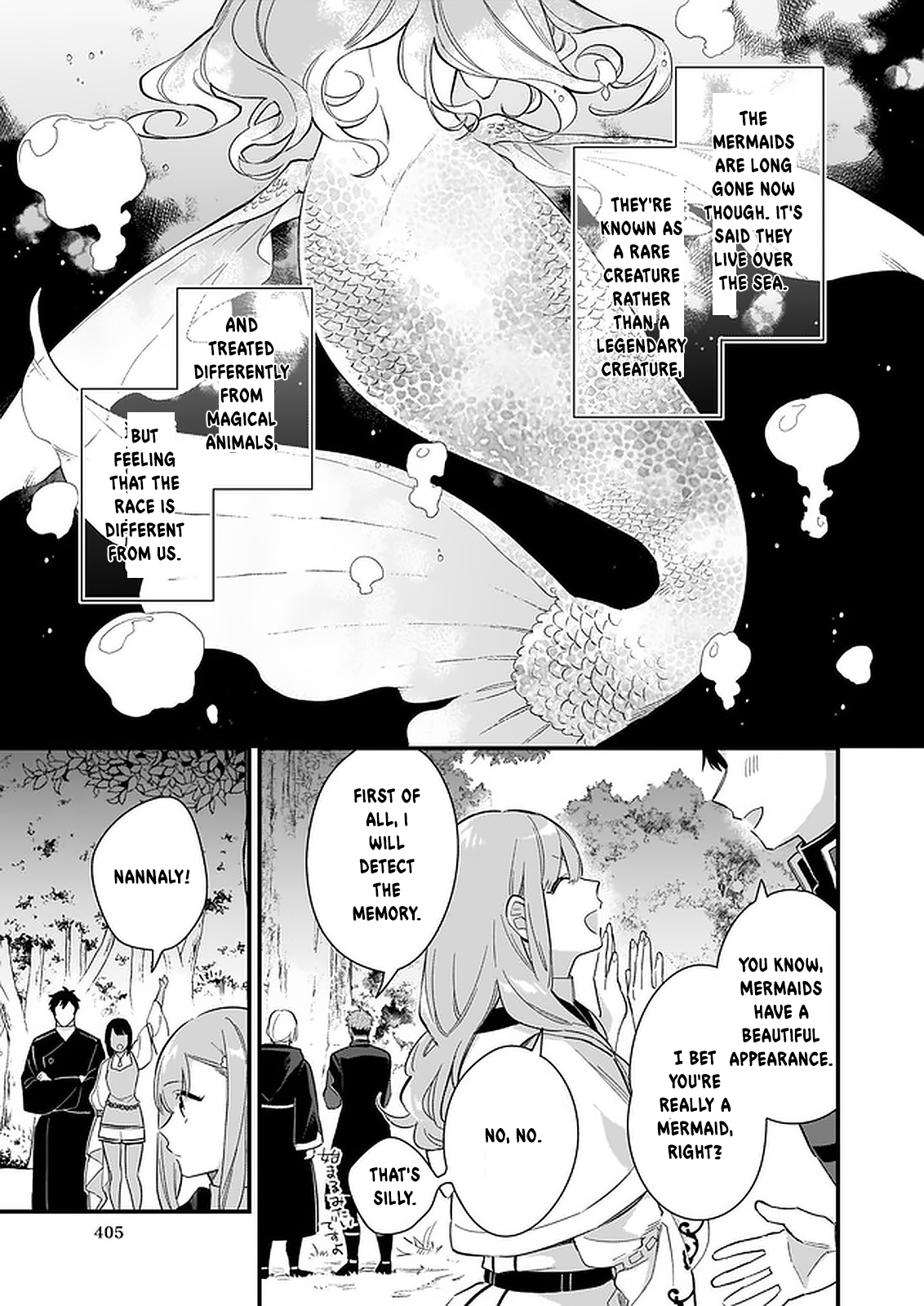 Manga I Want to Be a Receptionist of The Magic World! - Chapter 10 Page 28