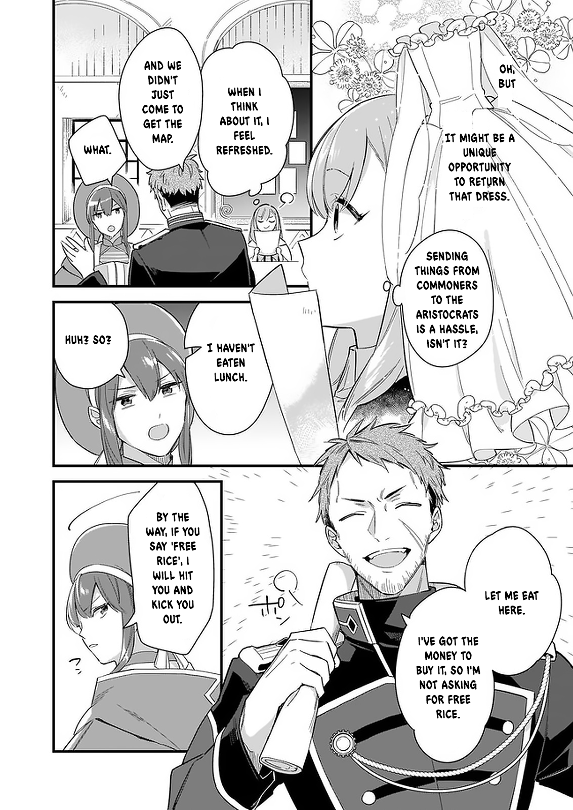 Manga I Want to Be a Receptionist of The Magic World! - Chapter 10 Page 7