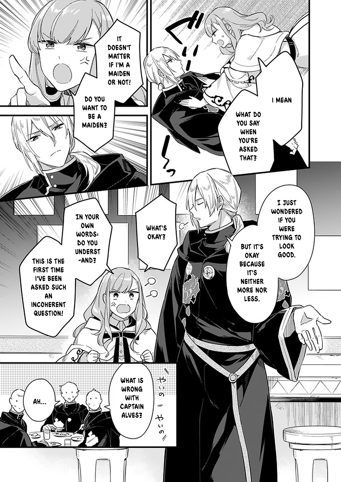 Manga I Want to Be a Receptionist of The Magic World! - Chapter 10 Page 14
