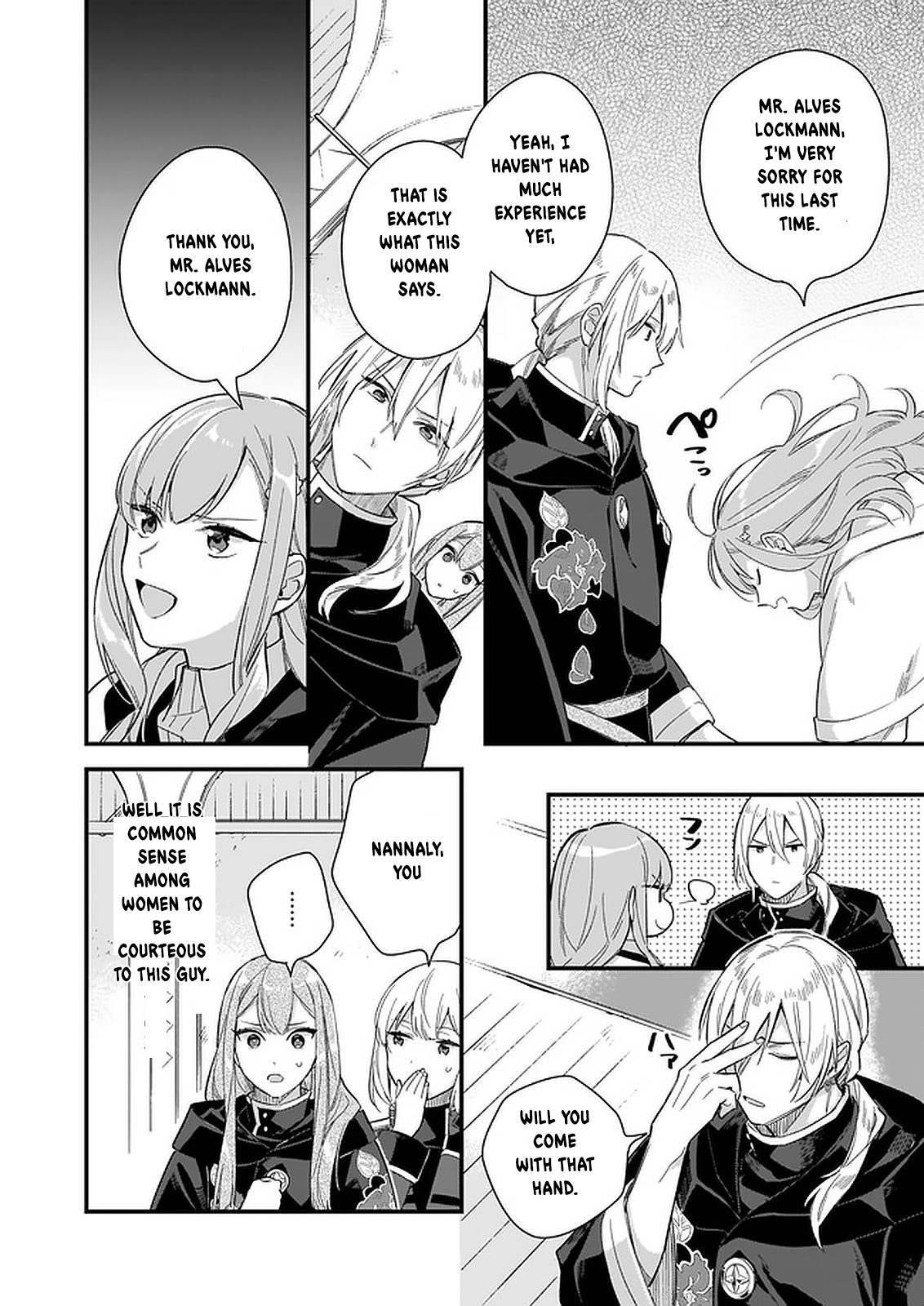Manga I Want to Be a Receptionist of The Magic World! - Chapter 10 Page 23