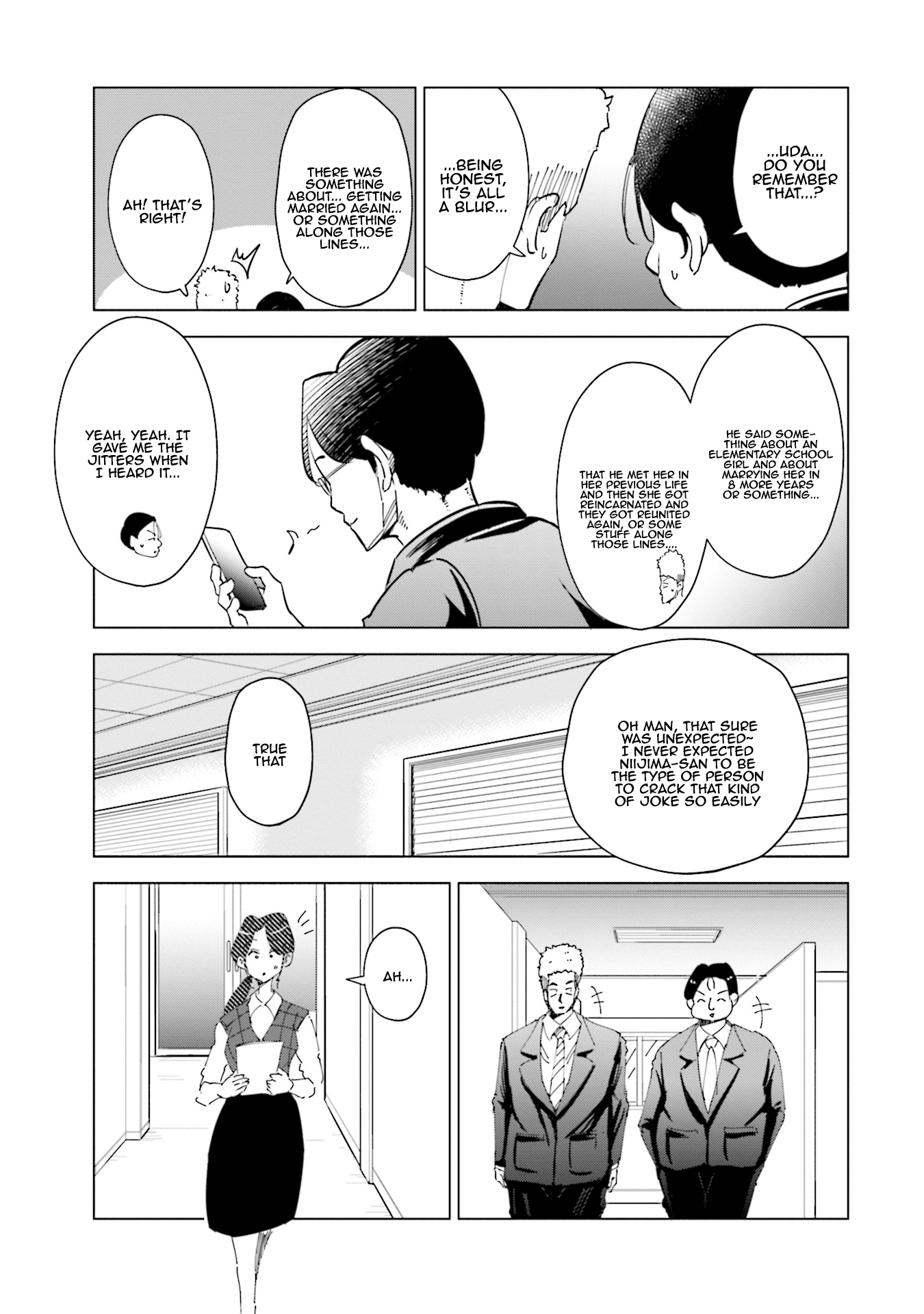 Manga If My Wife Became an Elementary School Student - Chapter 32 Page 10