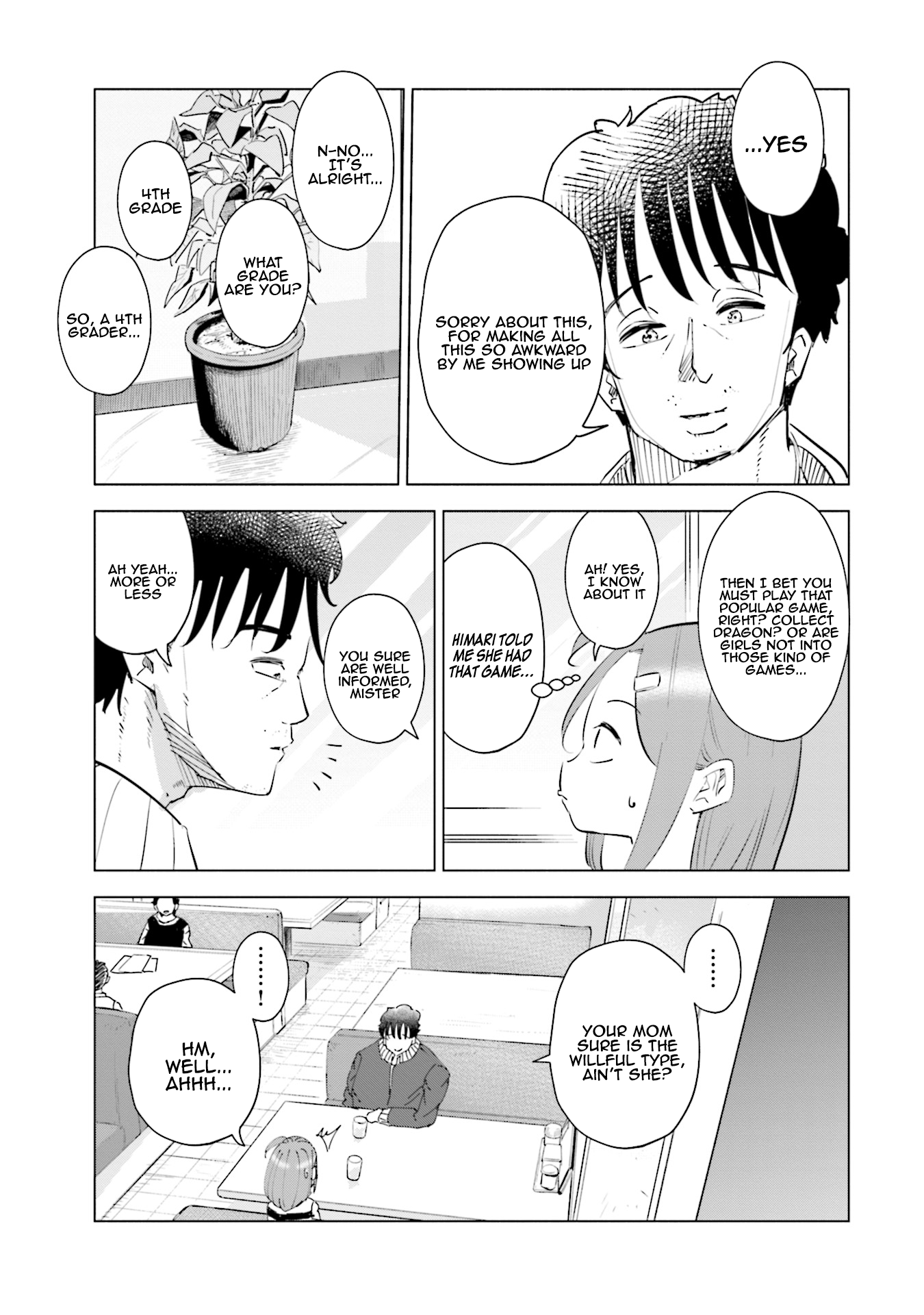 Manga If My Wife Became an Elementary School Student - Chapter 33 Page 8