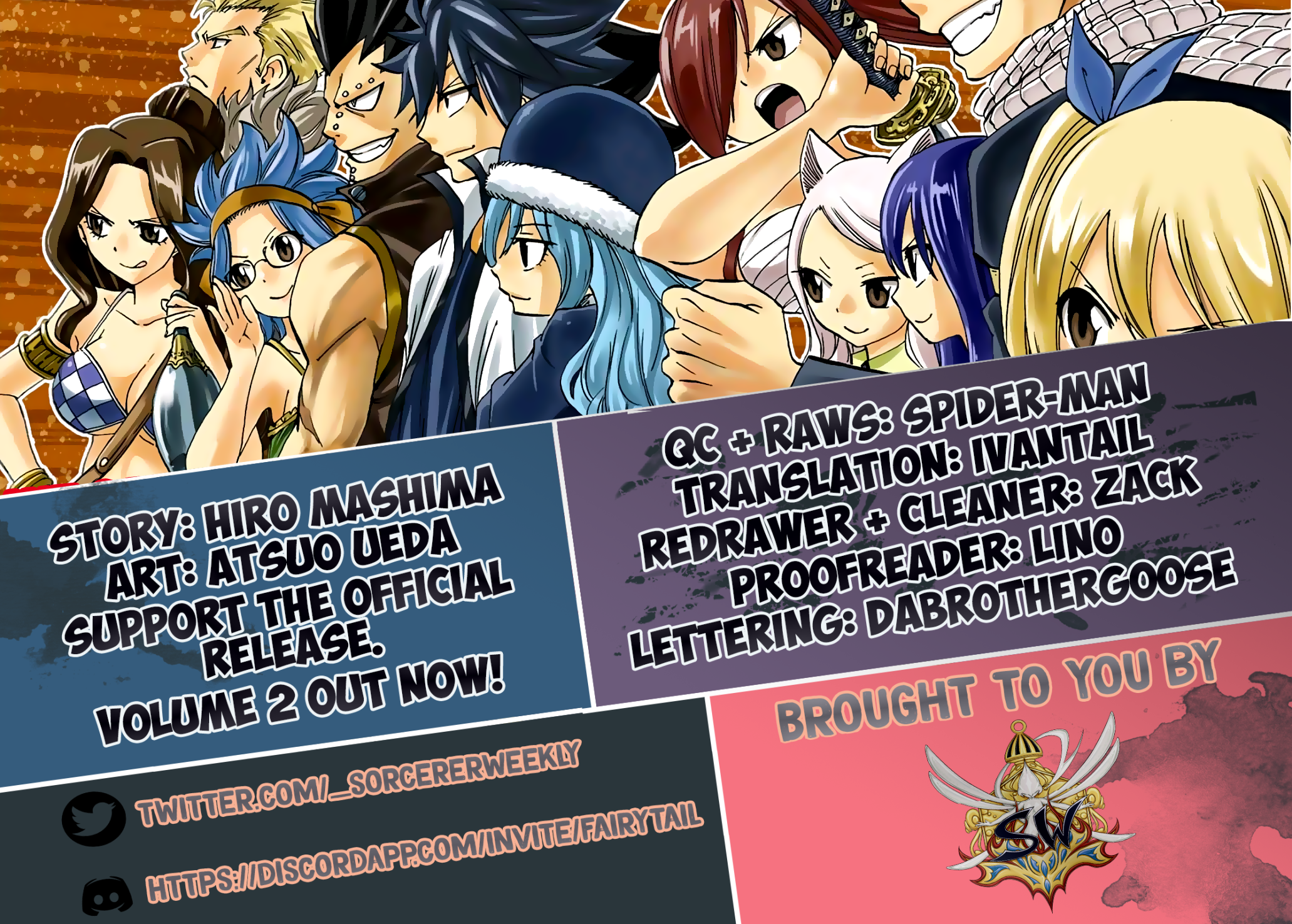 Manga Fairy Tail: 100 Years Quest - Chapter 52 Page 2