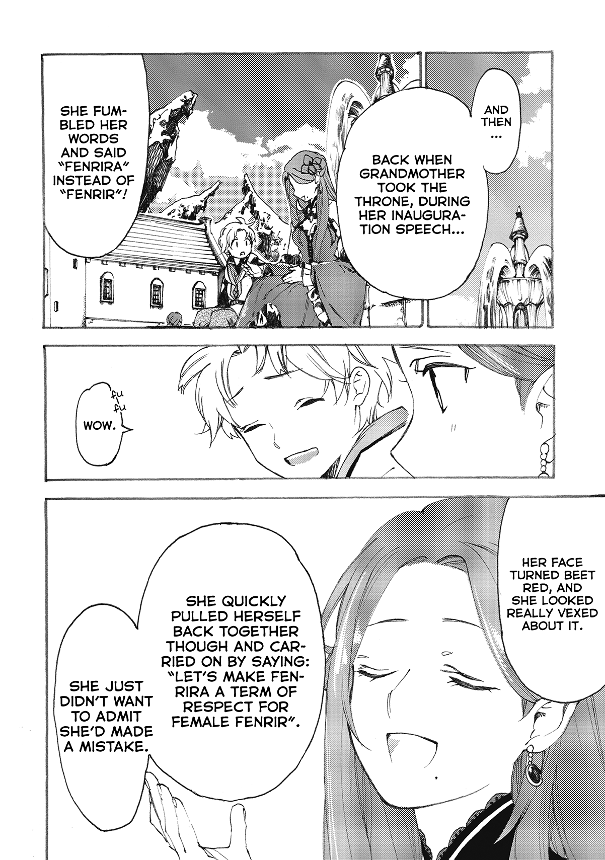 Manga Heart-Warming Meals with Mother Fenrir - Chapter 9 Page 17