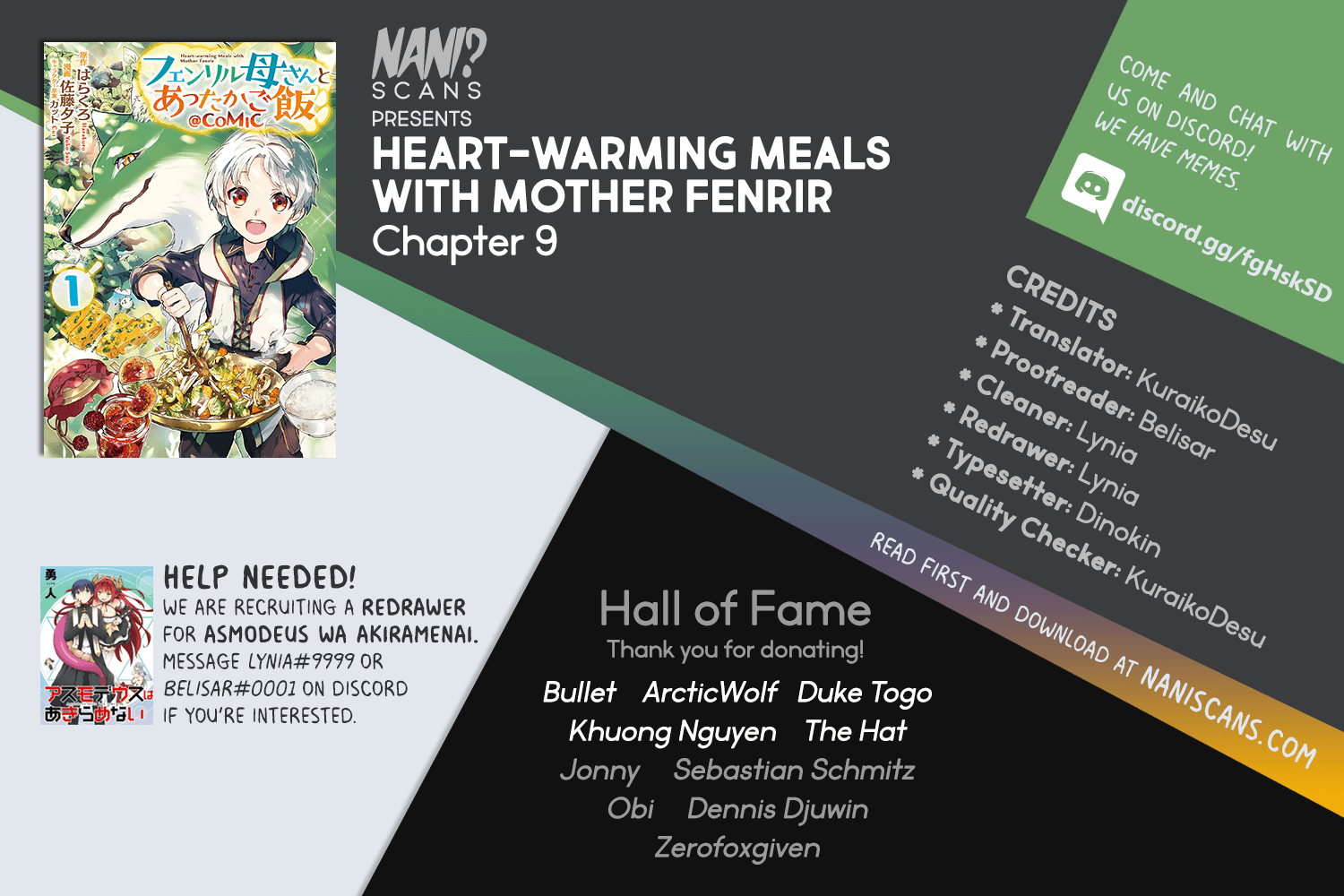 Manga Heart-Warming Meals with Mother Fenrir - Chapter 9 Page 1
