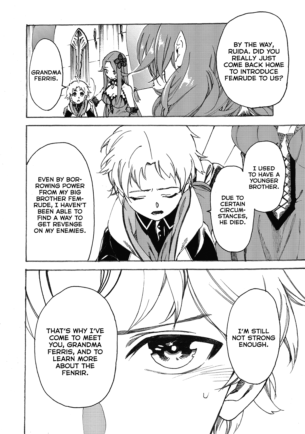 Manga Heart-Warming Meals with Mother Fenrir - Chapter 10 Page 9