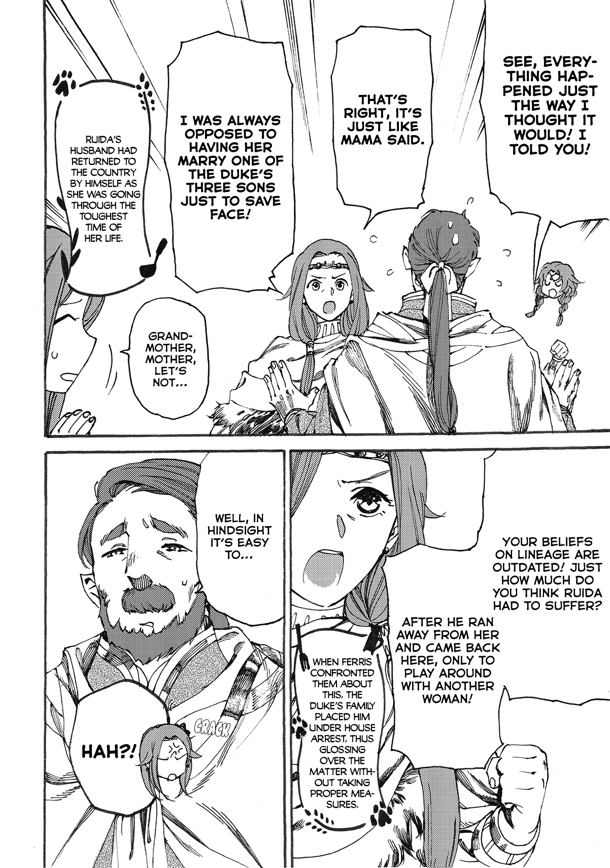 Manga Heart-Warming Meals with Mother Fenrir - Chapter 10 Page 3