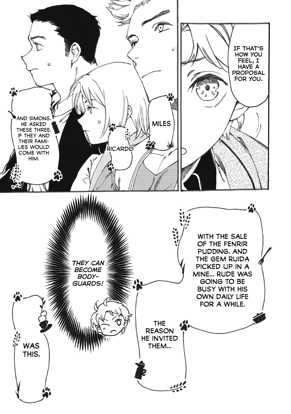 Manga Heart-Warming Meals with Mother Fenrir - Chapter 12 Page 18