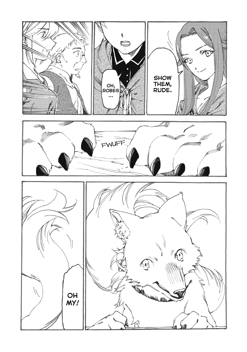 Manga Heart-Warming Meals with Mother Fenrir - Chapter 12 Page 7