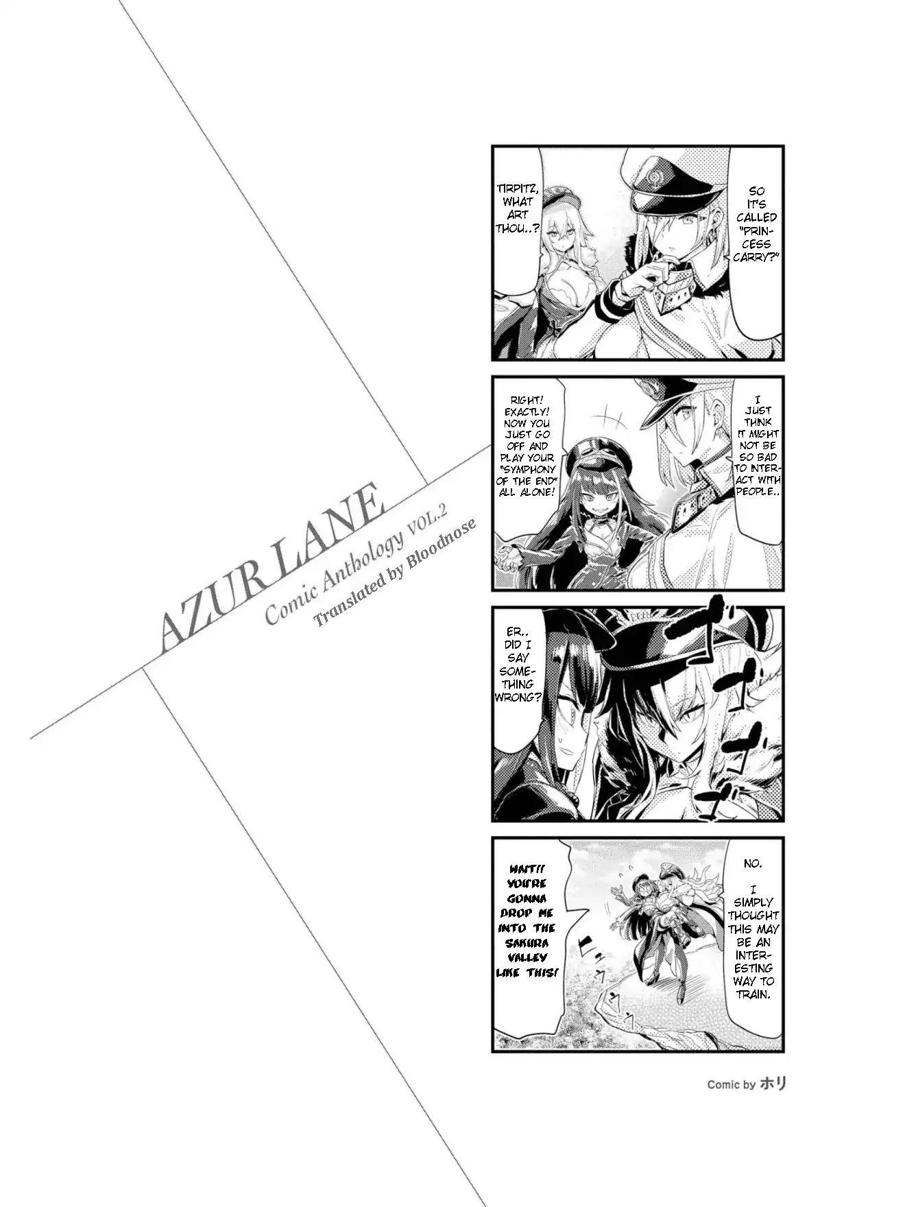Manga Azur Lane Comic Anthology - Chapter 19 Page 2