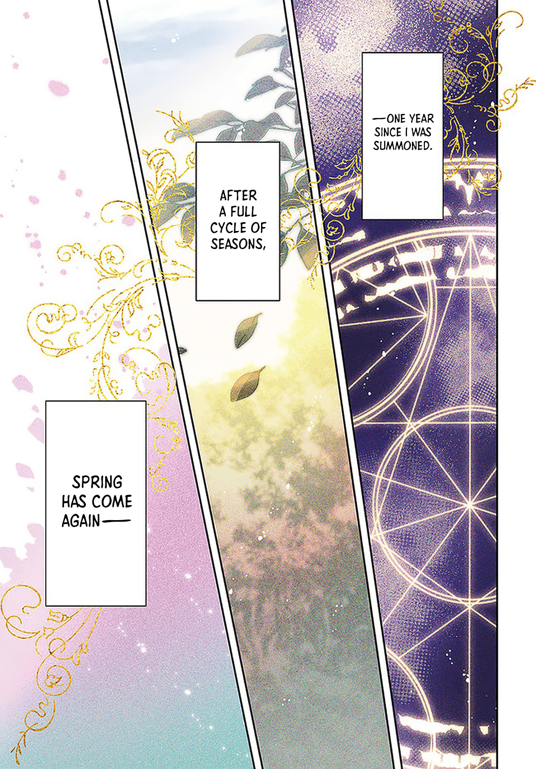 Manga The Power of the Saint Is All Around. - Chapter 25 Page 1