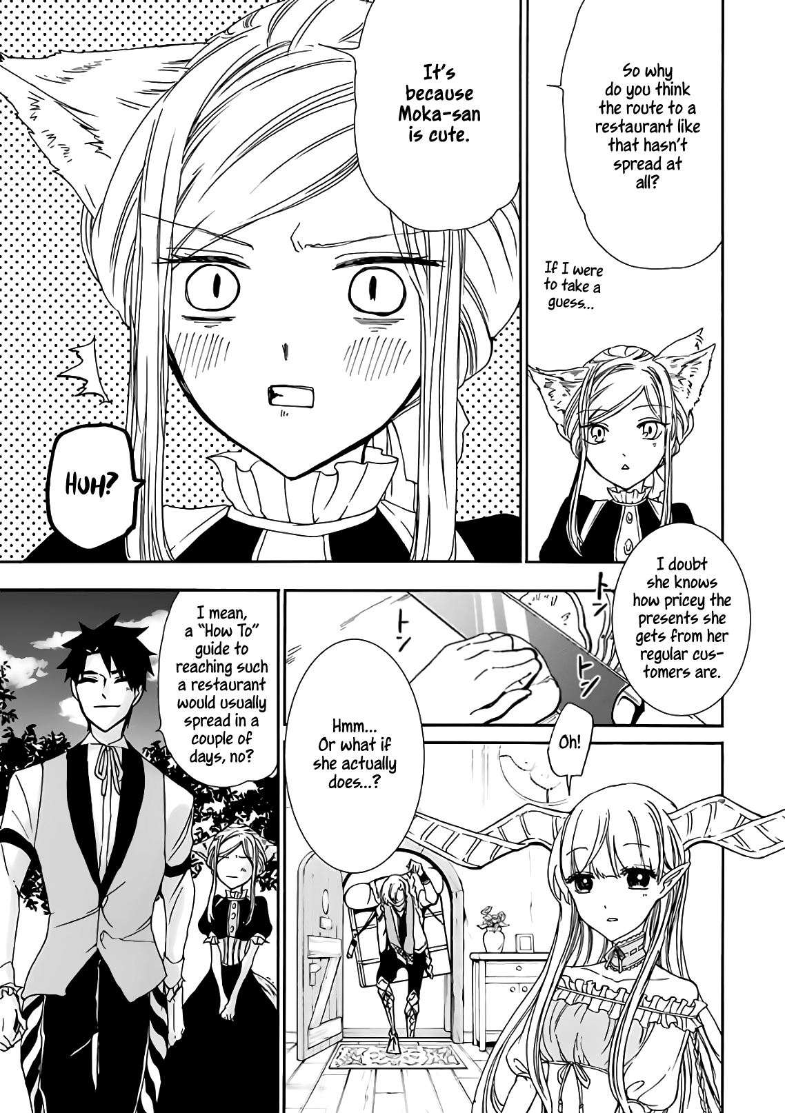Manga Gourmet In Different World. - Chapter 14 Page 29