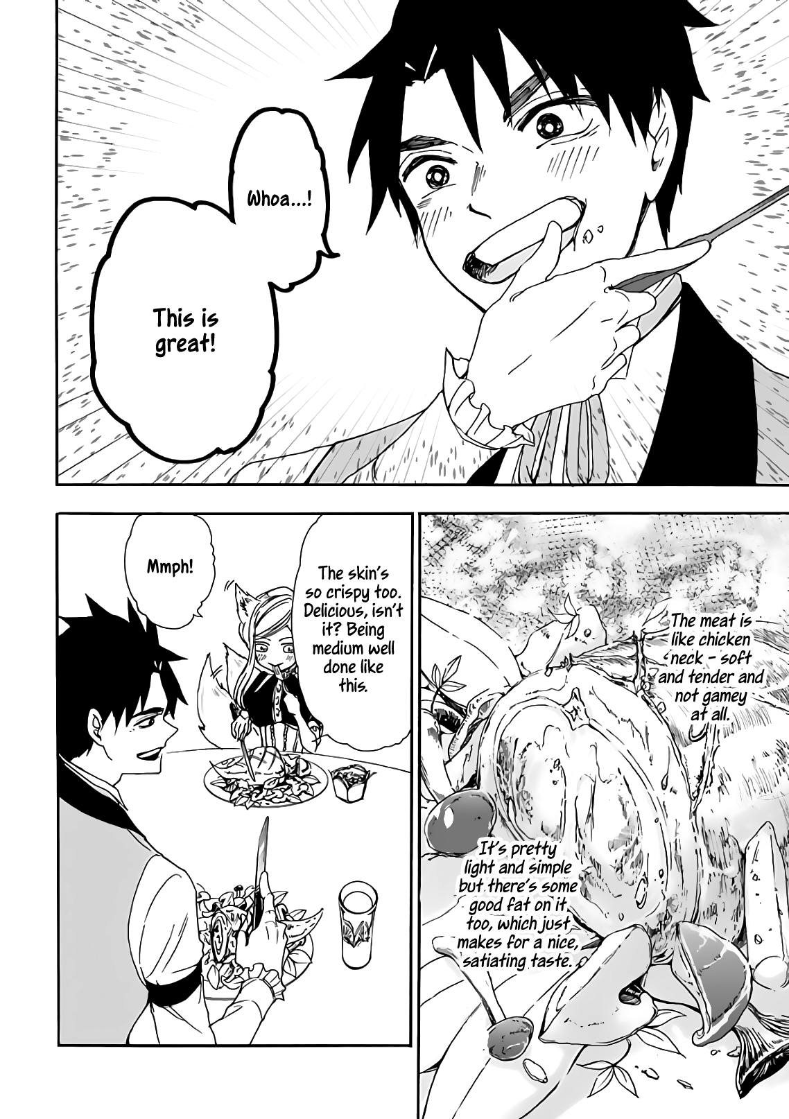 Manga Gourmet In Different World. - Chapter 14 Page 24