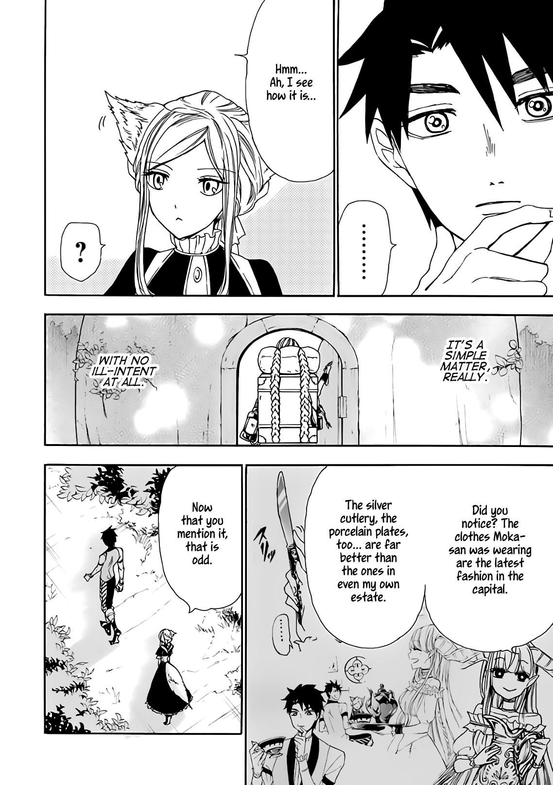 Manga Gourmet In Different World. - Chapter 14 Page 28
