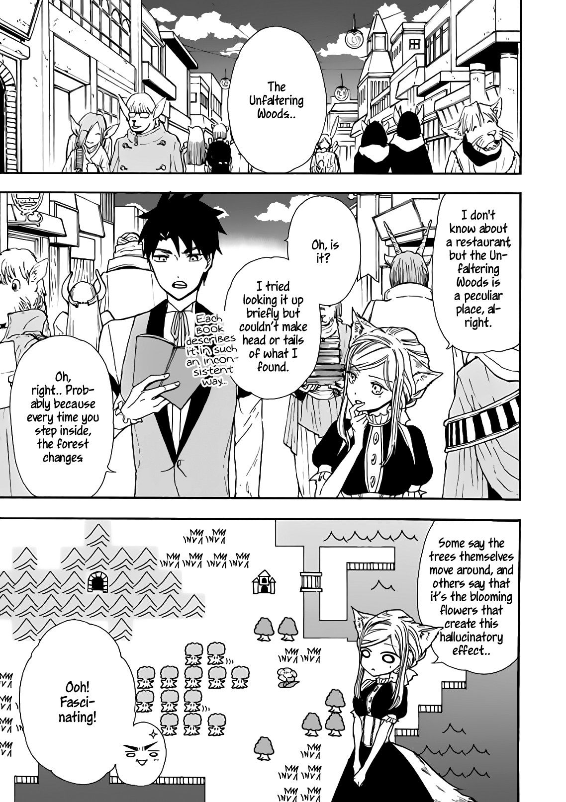 Manga Gourmet In Different World. - Chapter 14 Page 3