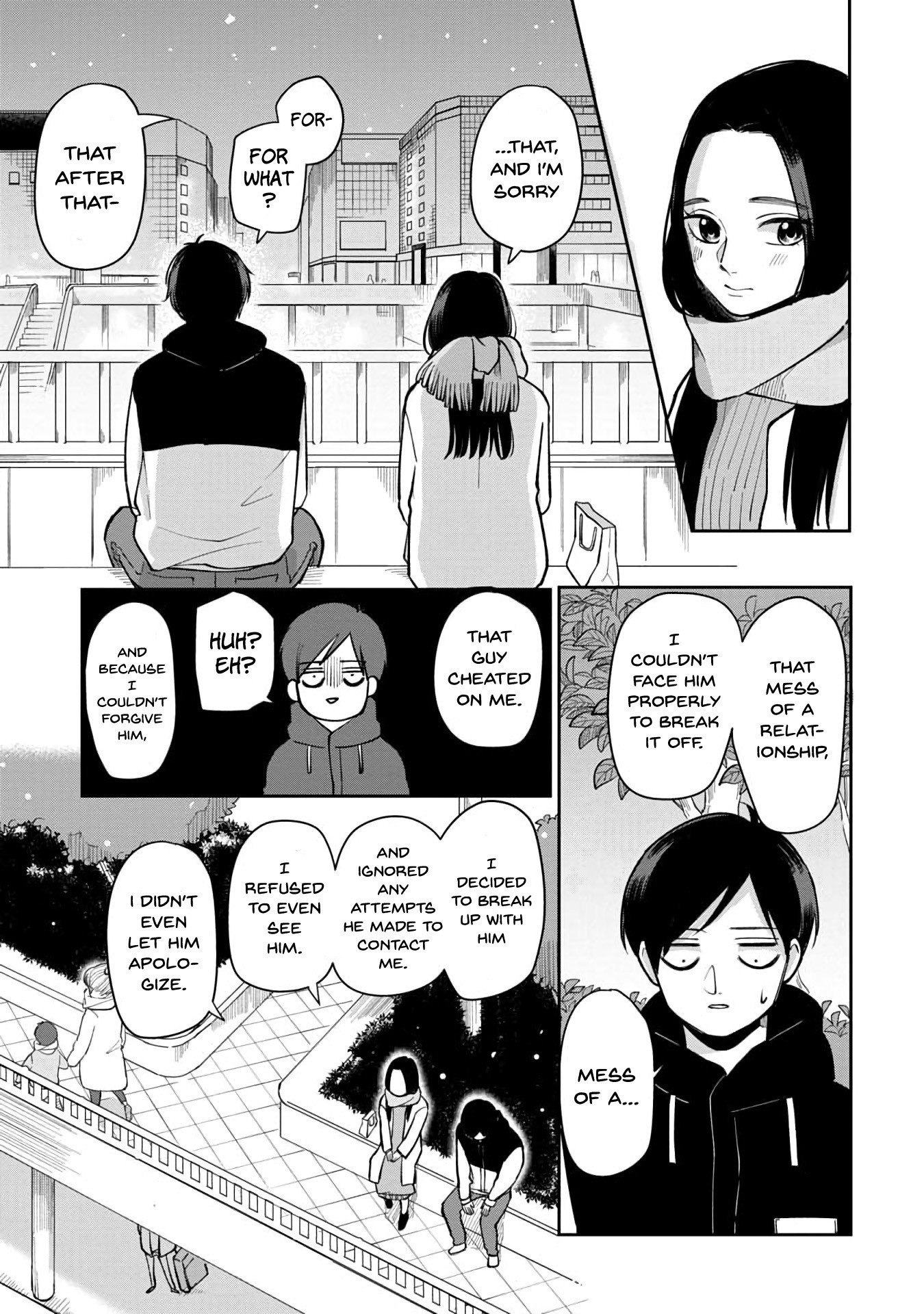 Manga The Two Gets by Tomorrow Too, More or Less. - Chapter 38 Page 8