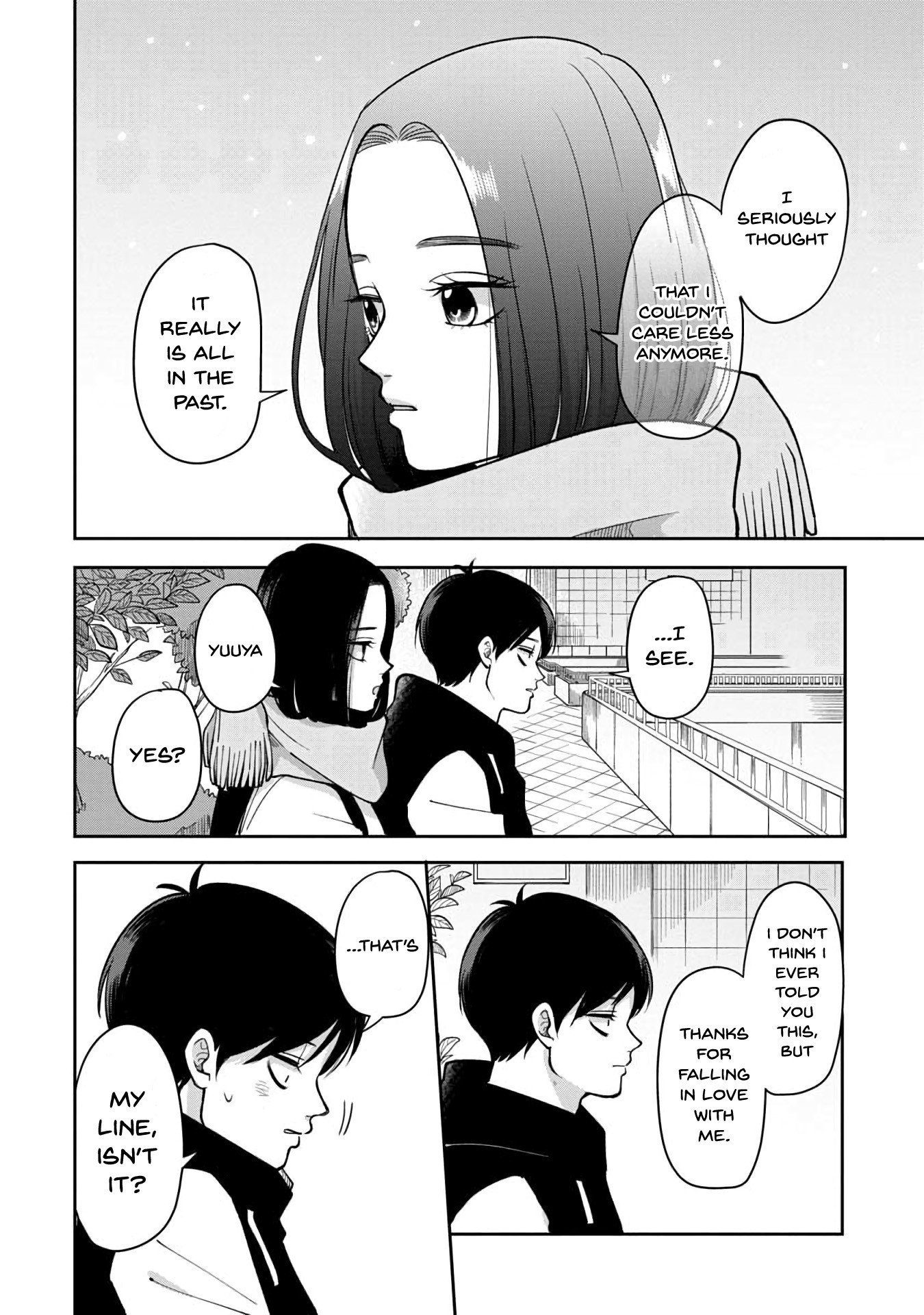 Manga The Two Gets by Tomorrow Too, More or Less. - Chapter 38 Page 7