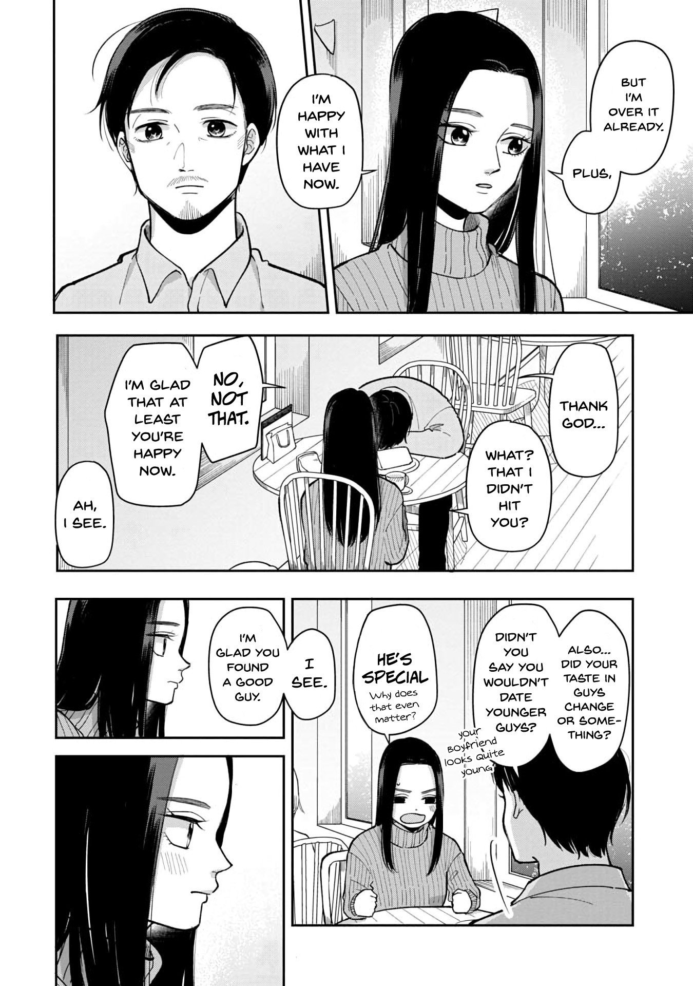 Manga The Two Gets by Tomorrow Too, More or Less. - Chapter 38 Page 3