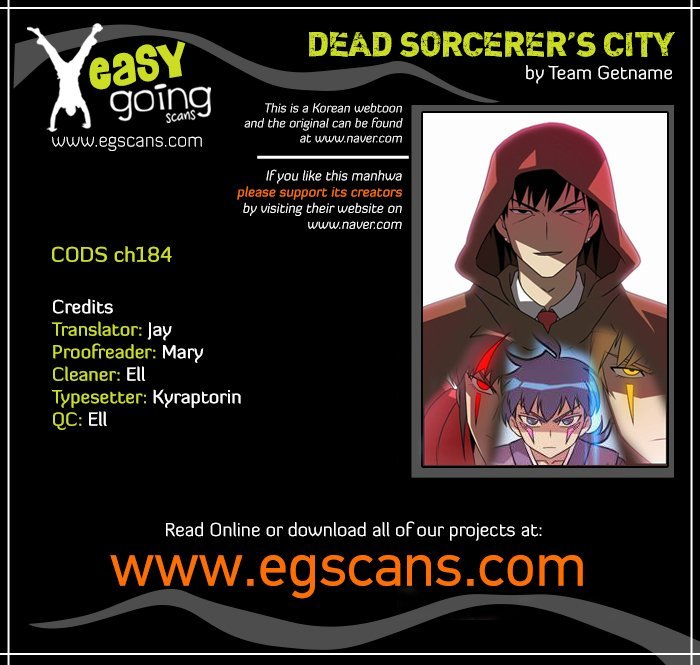 Manga City of the Dead Sorcerer - Chapter 184 Page 1