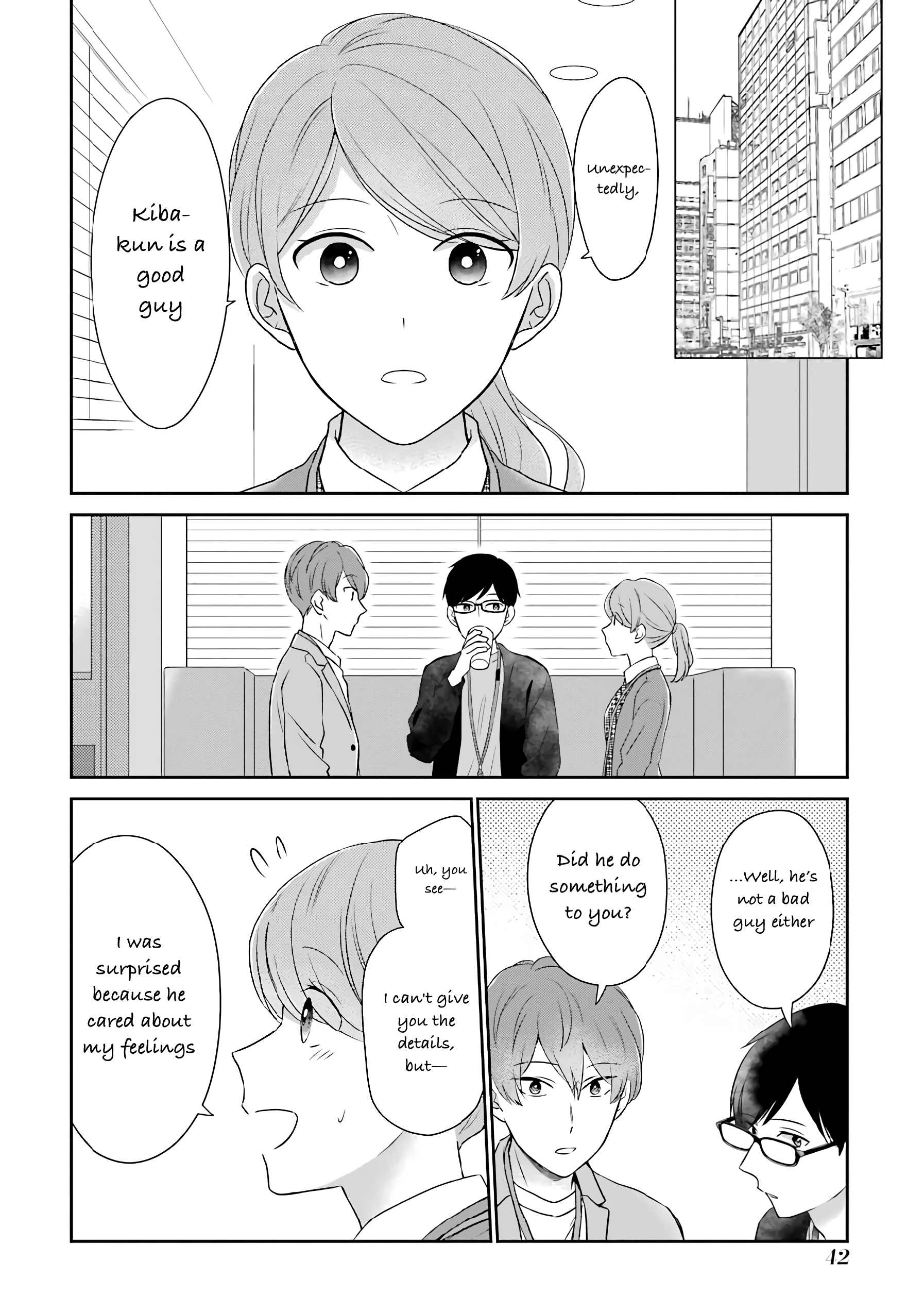 Manga I'm Around Thirty And Finally In Love - Chapter 42 Page 3