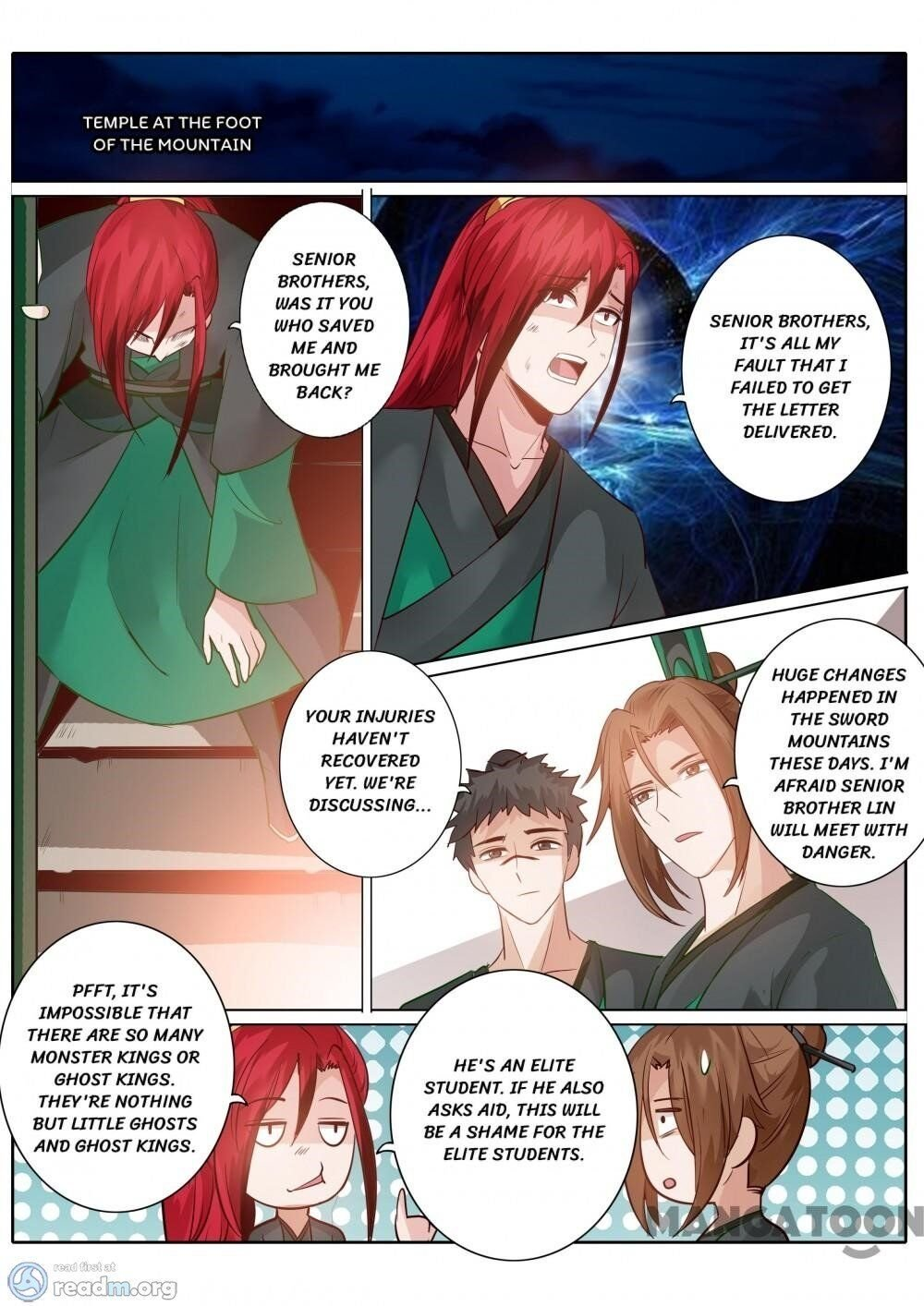Manga All Heavenly Days - Chapter 141 Page 8