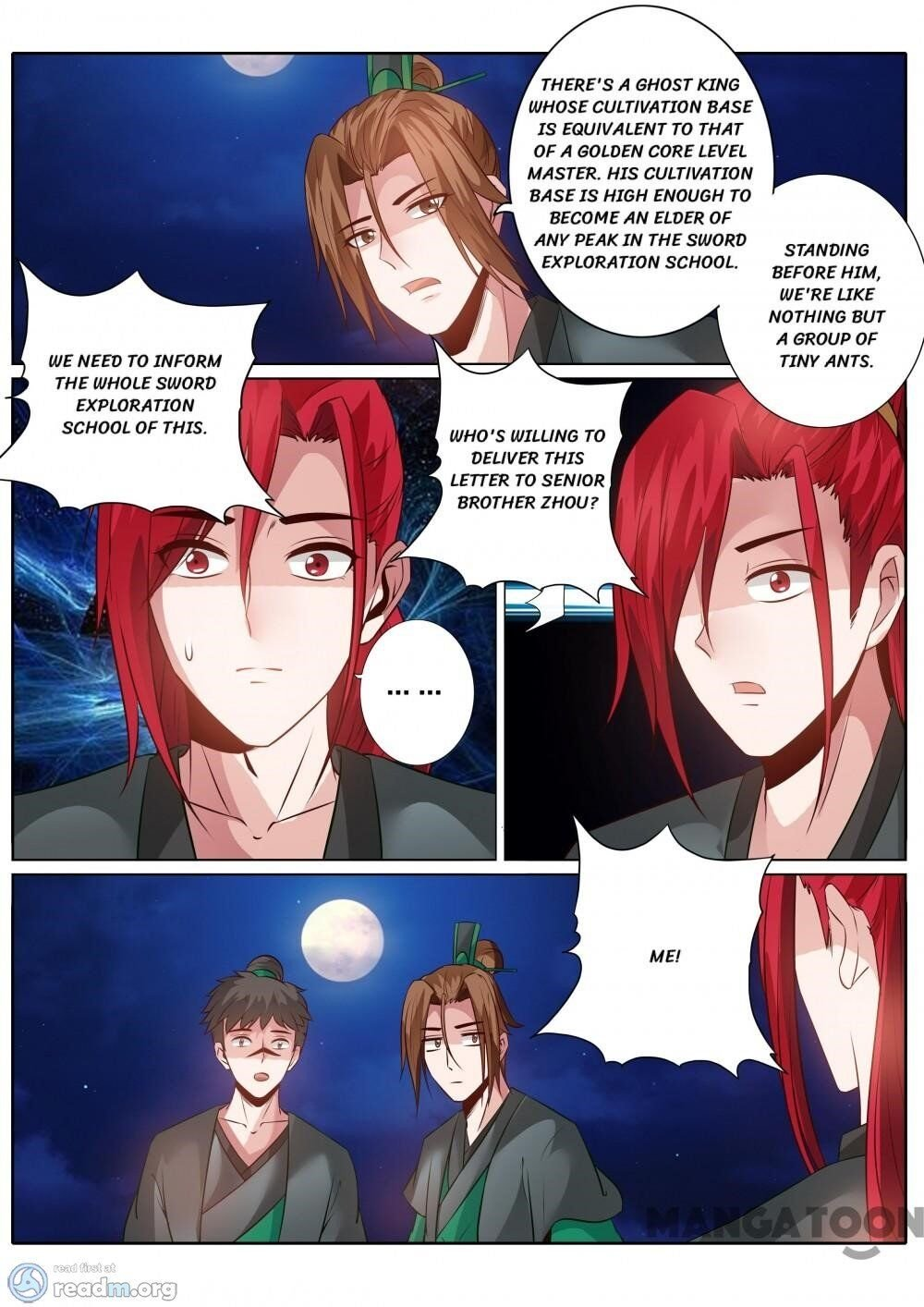 Manga All Heavenly Days - Chapter 136 Page 4