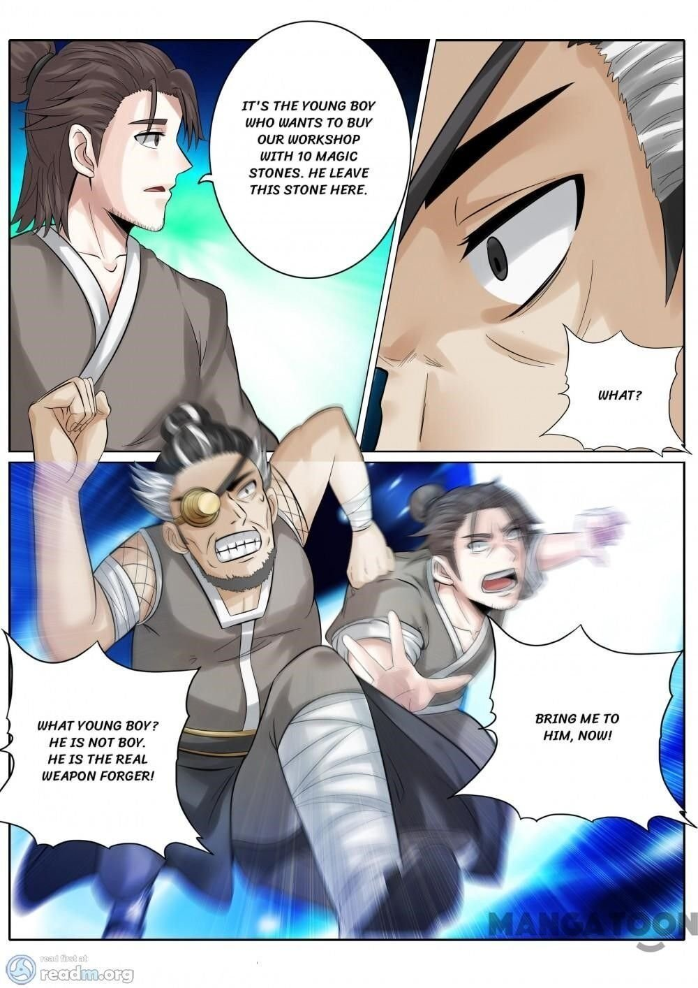 Manga All Heavenly Days - Chapter 160 Page 4
