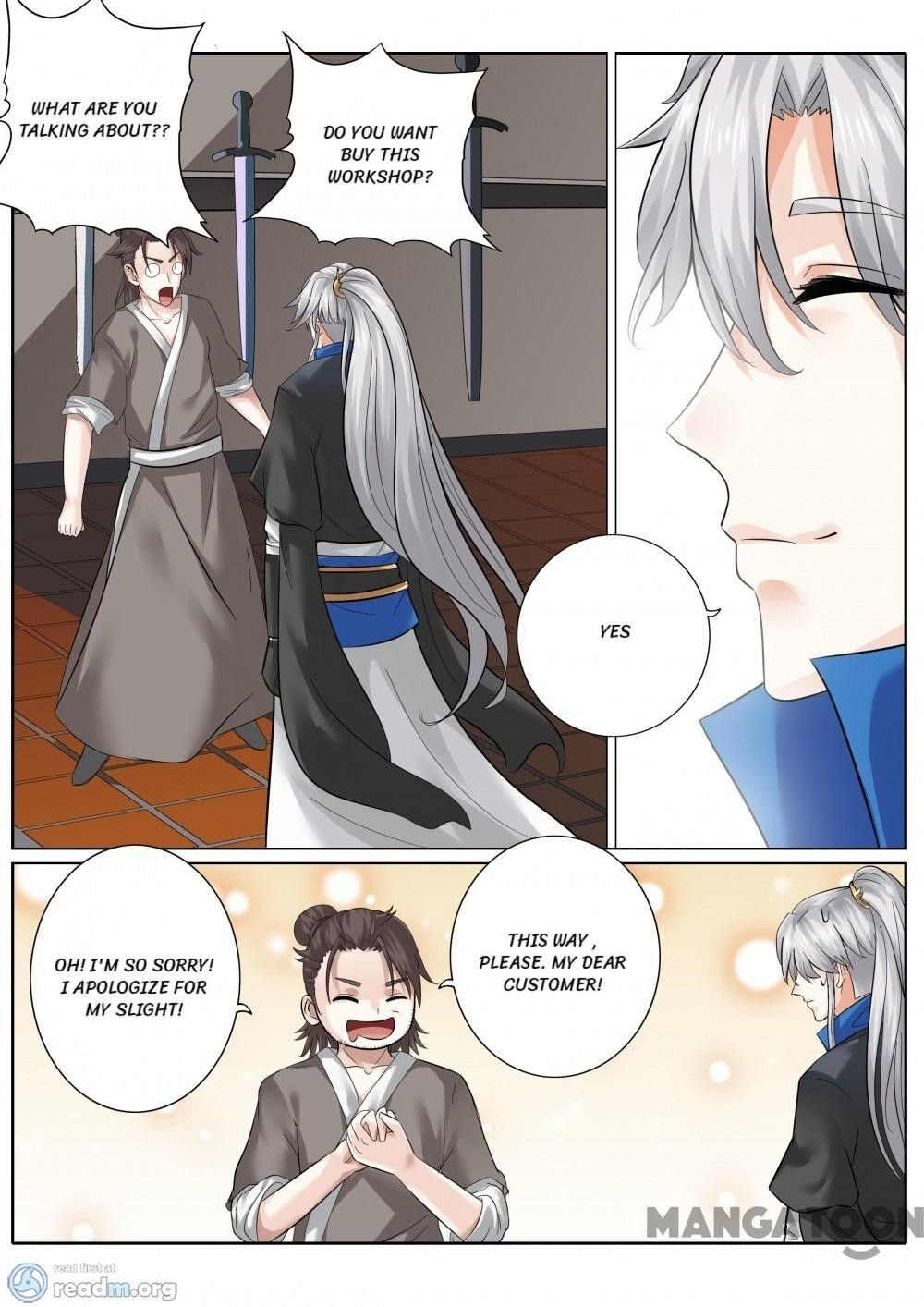 Manga All Heavenly Days - Chapter 159 Page 1