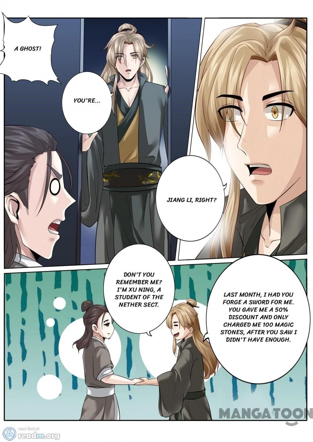 Manga All Heavenly Days - Chapter 165 Page 1