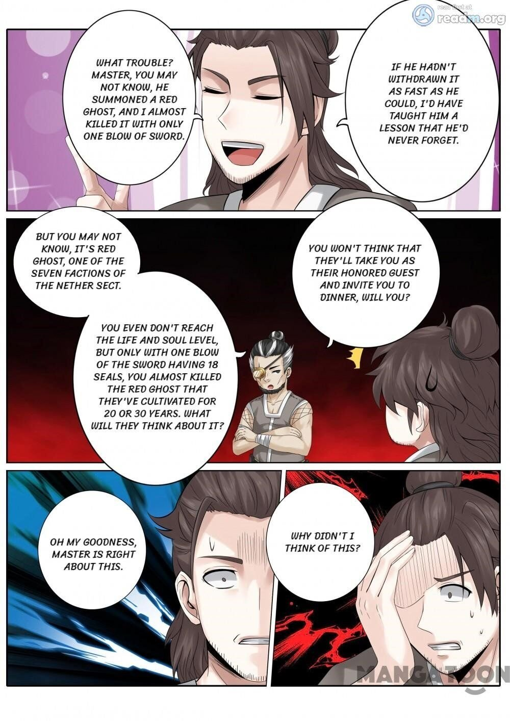 Manga All Heavenly Days - Chapter 168 Page 1