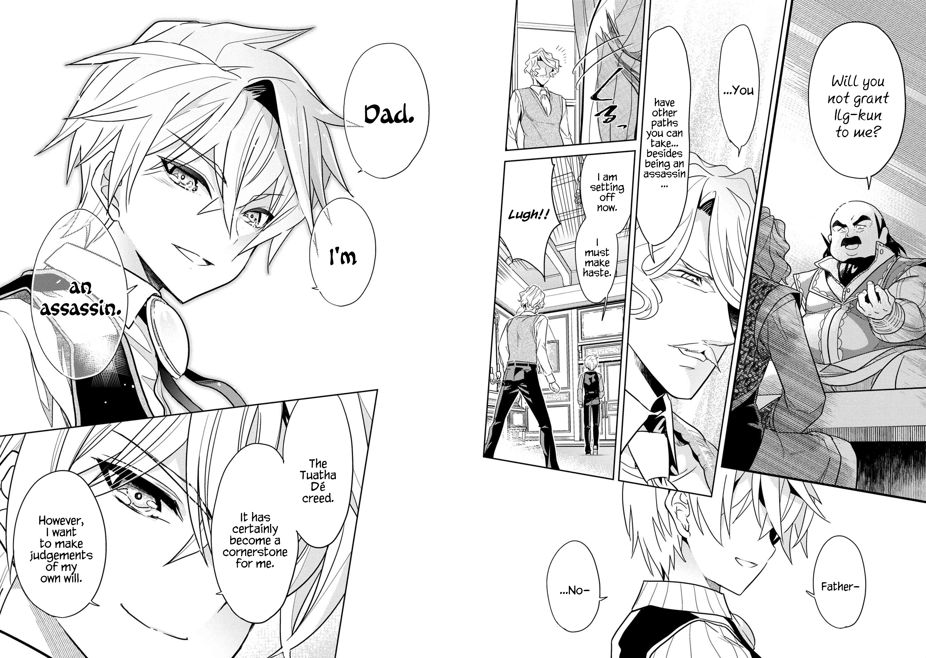 Manga The World's Best Assassin, Reincarnated in a Different World as an Aristocrat - Chapter 7.2 Page 7