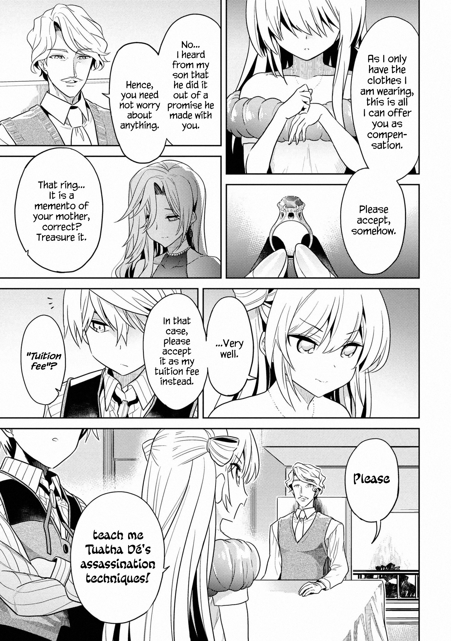 Manga The World's Best Assassin, Reincarnated in a Different World as an Aristocrat - Chapter 10 Page 13