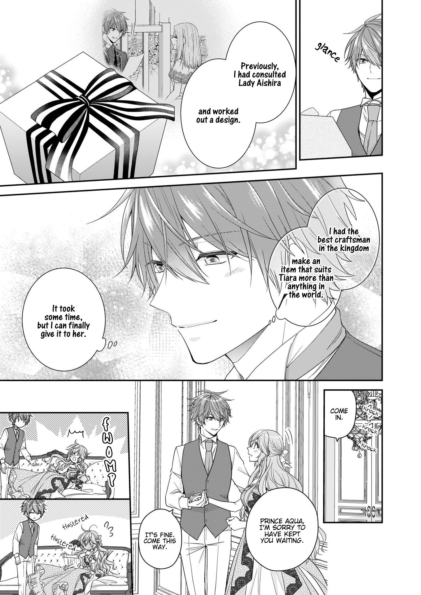 Manga The Villainess Is Adored by the Crown Prince of the Neighboring Kingdom - Chapter 24 Page 30