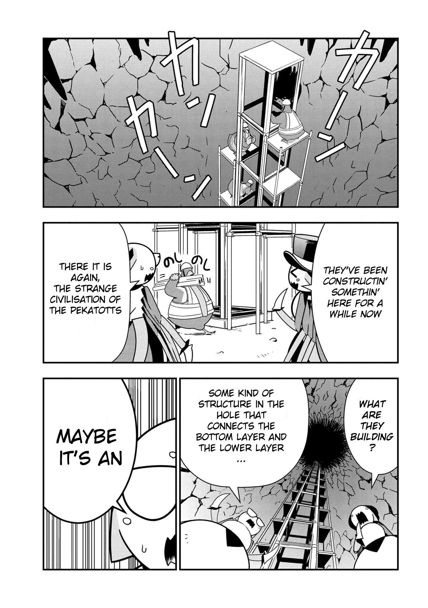 Manga Kumo Desu ga, Nani ka? Daily Life of the Four Spider Sisters - Chapter 46 Page 1