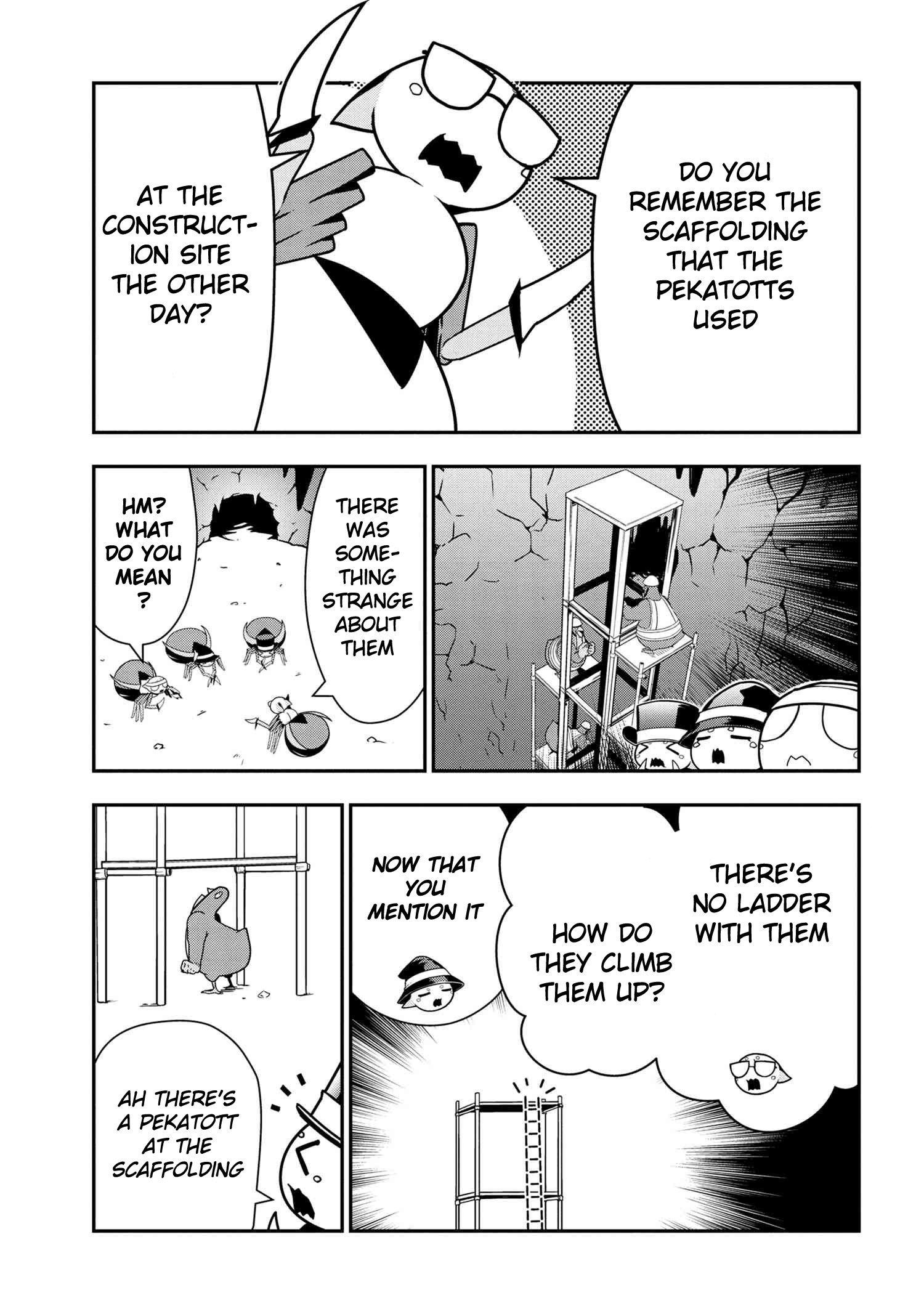 Manga Kumo Desu ga, Nani ka? Daily Life of the Four Spider Sisters - Chapter 47 Page 1