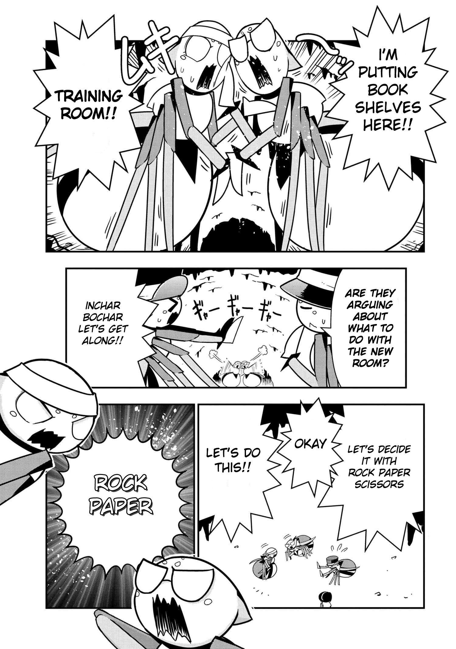 Manga Kumo Desu ga, Nani ka? Daily Life of the Four Spider Sisters - Chapter 53 Page 1
