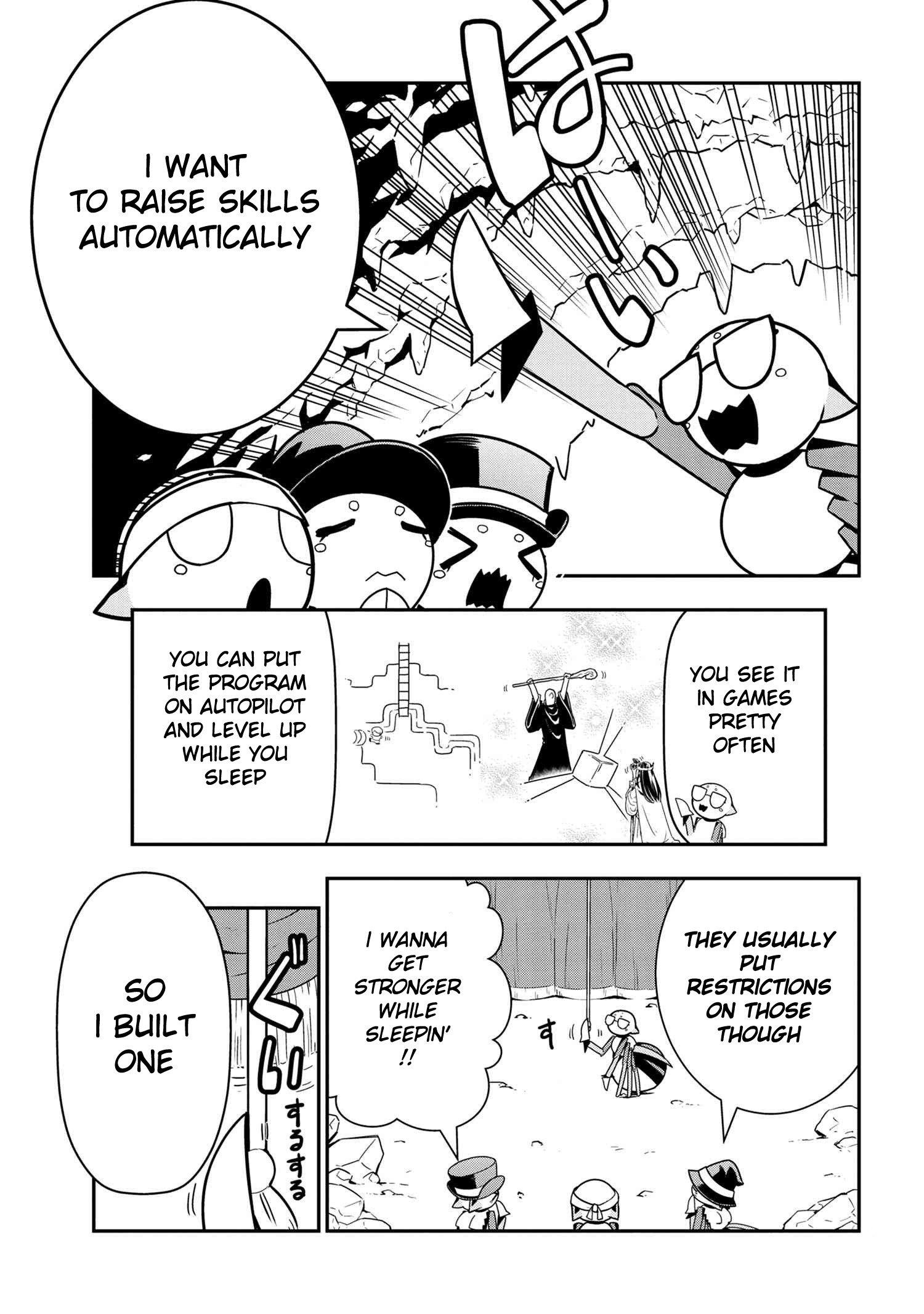 Manga Kumo Desu ga, Nani ka? Daily Life of the Four Spider Sisters - Chapter 64 Page 1