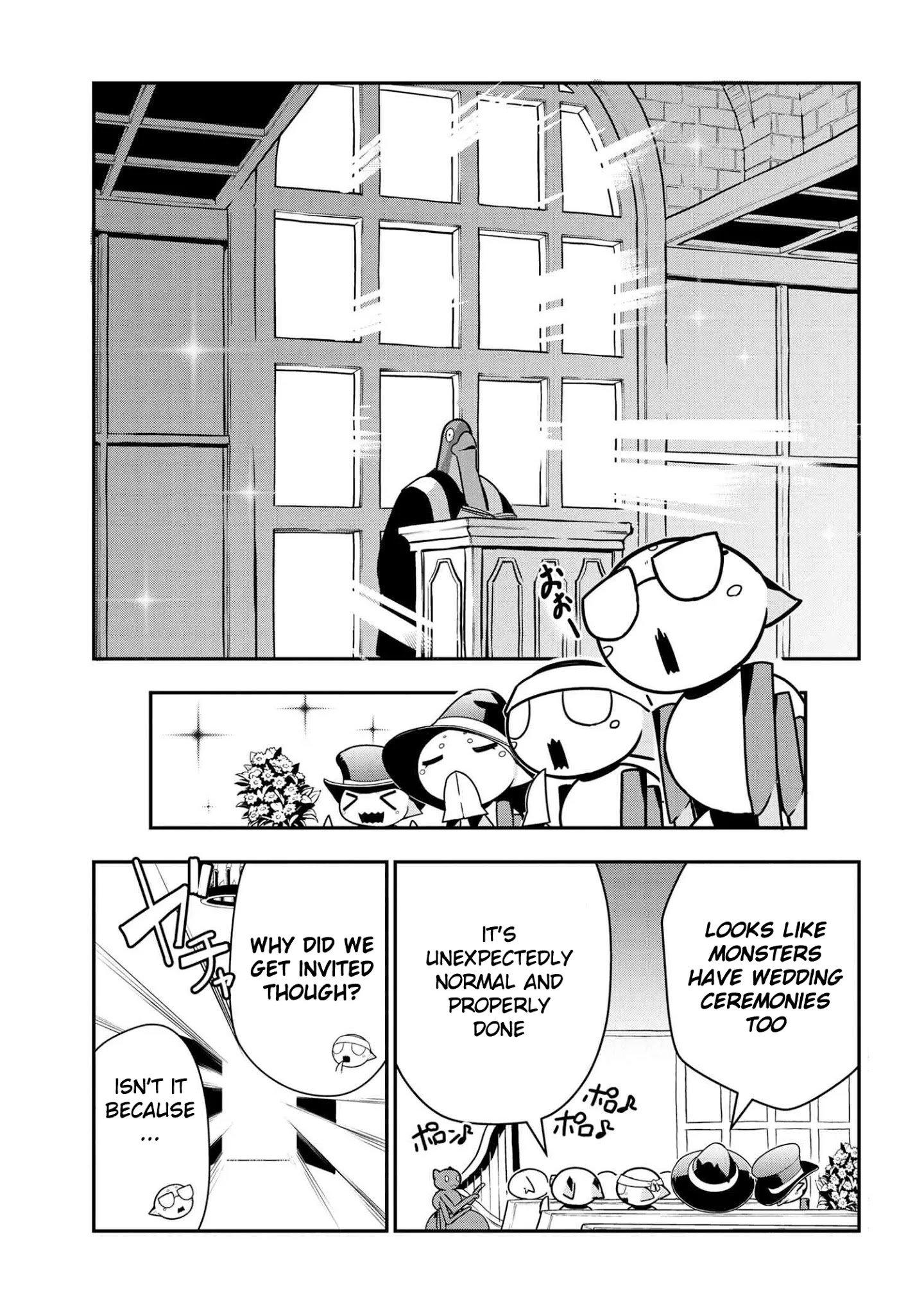 Manga Kumo Desu ga, Nani ka? Daily Life of the Four Spider Sisters - Chapter 75 Page 1