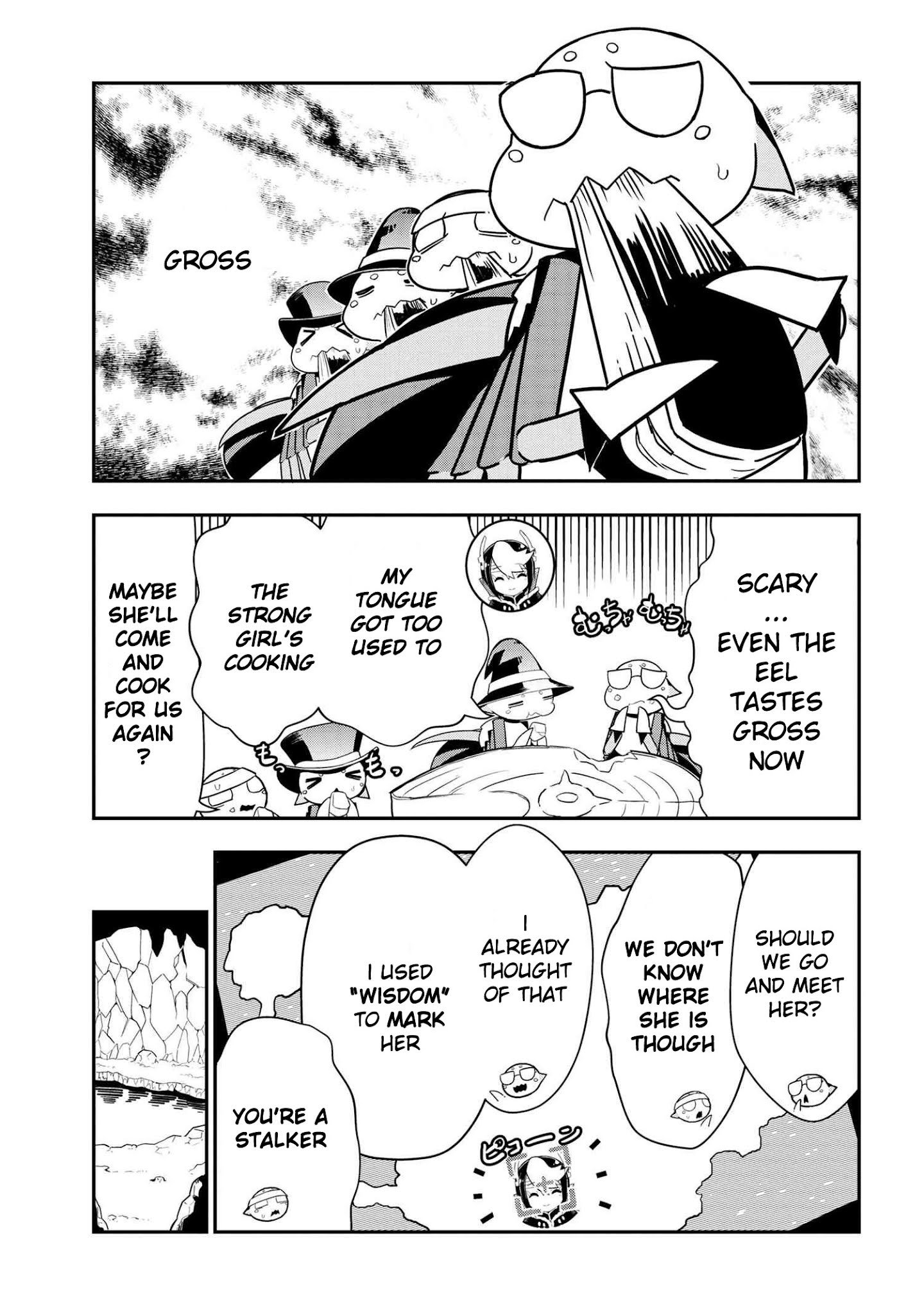 Manga Kumo Desu ga, Nani ka? Daily Life of the Four Spider Sisters - Chapter 82 Page 1