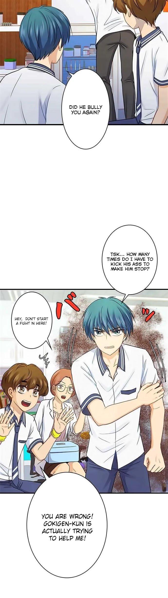 Manga Futsuu ni Naritai - Chapter 93 Page 22