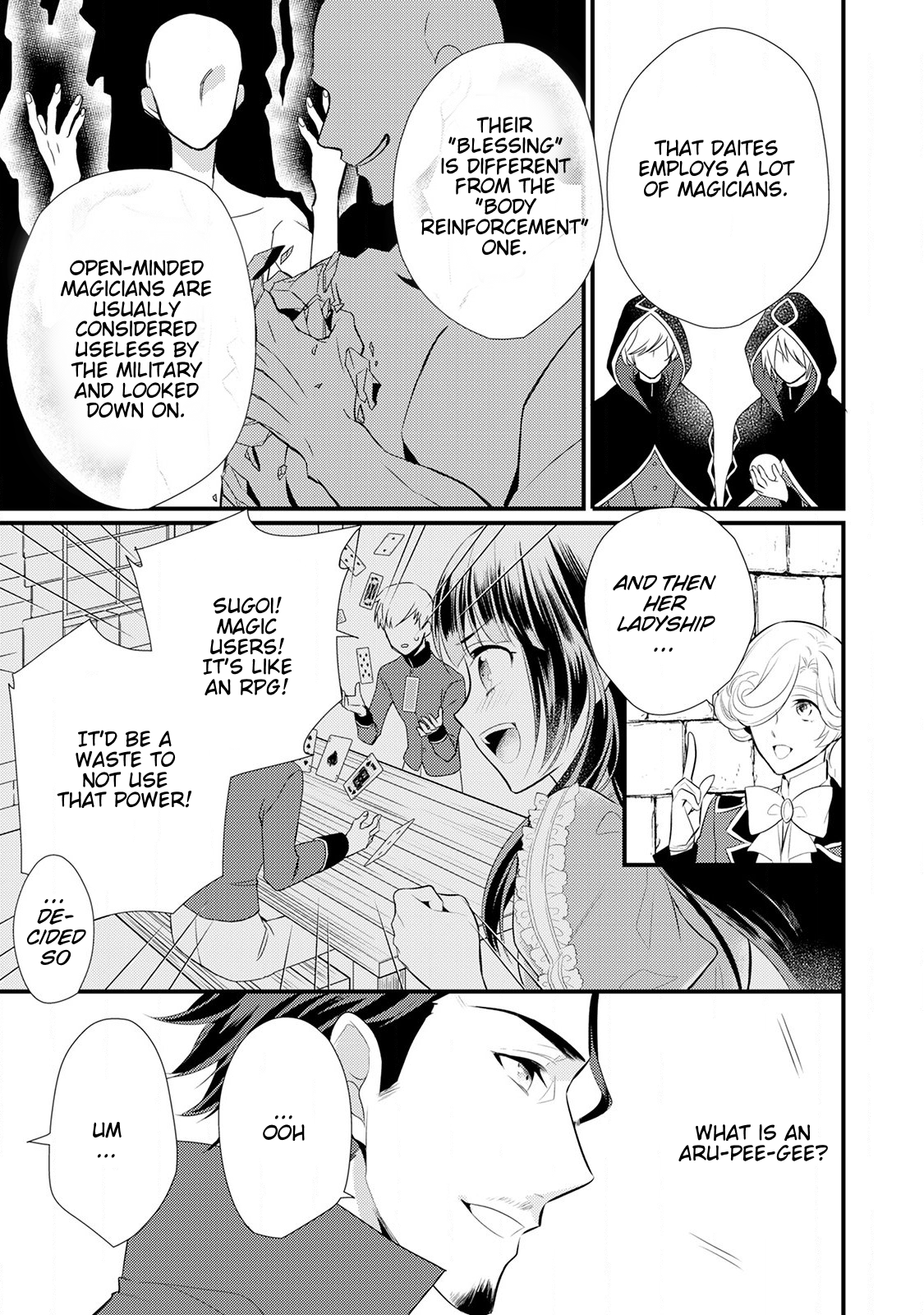 Manga Offense and Defense in Daites - Chapter 15 Page 10