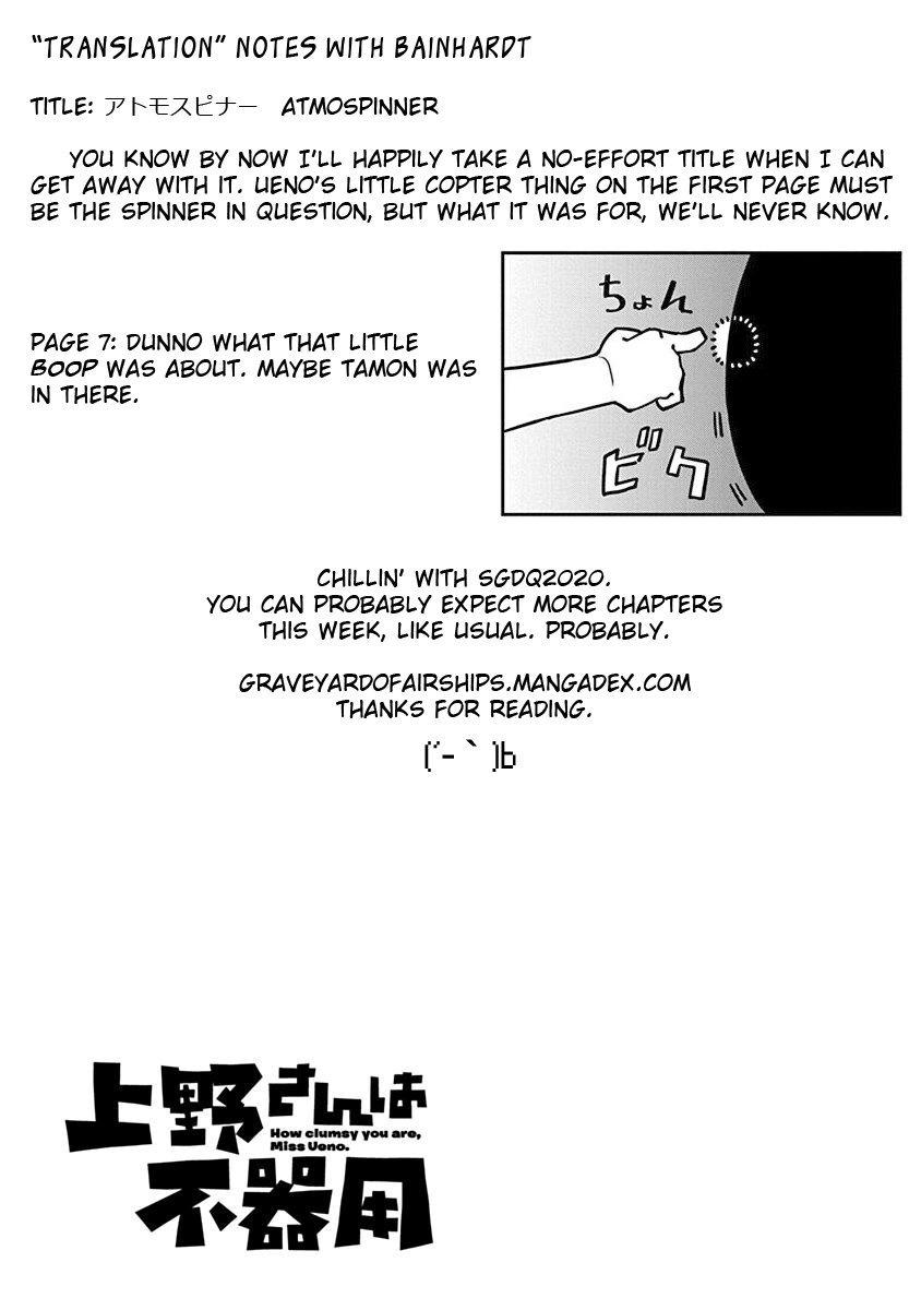 Manga Ueno-san wa Bukiyou - Chapter 66 Page 13