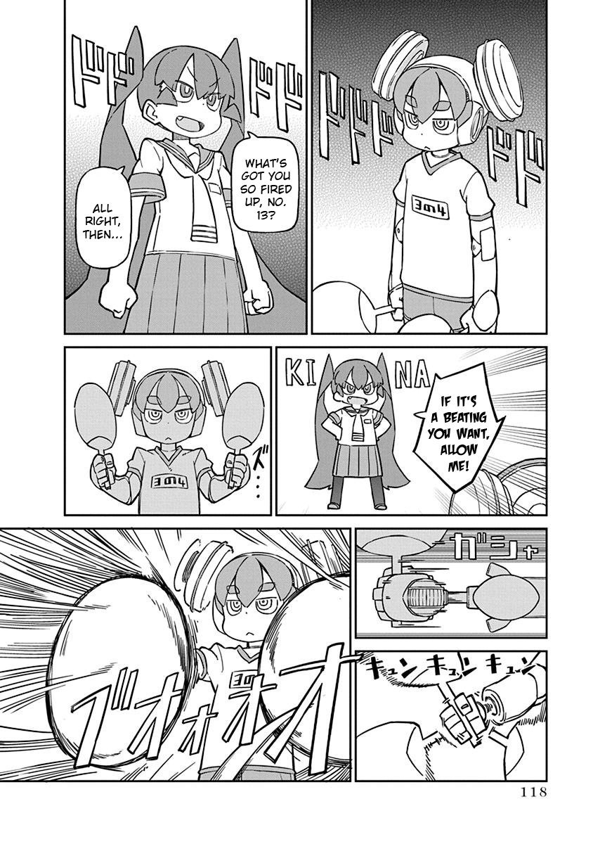 Manga Ueno-san wa Bukiyou - Chapter 69 Page 4